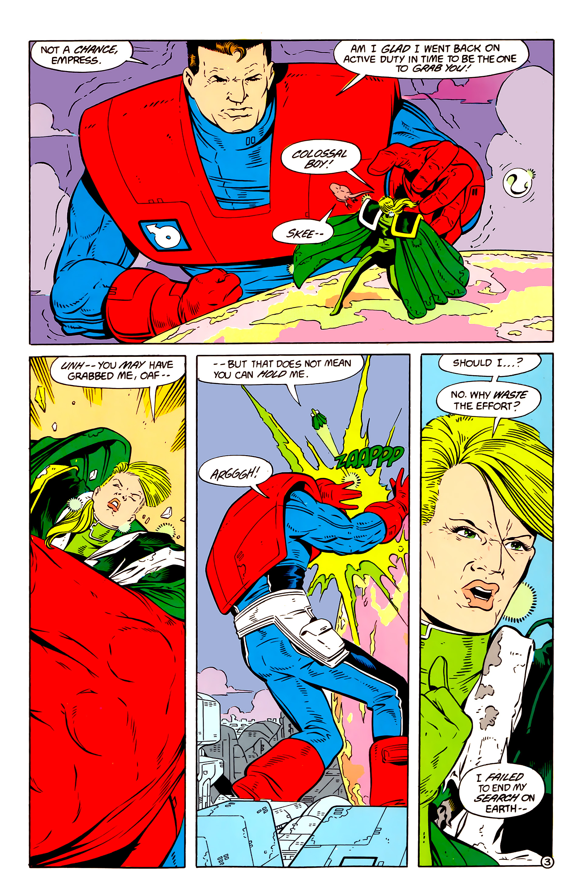 Legion of Super-Heroes (1984) 58 Page 3