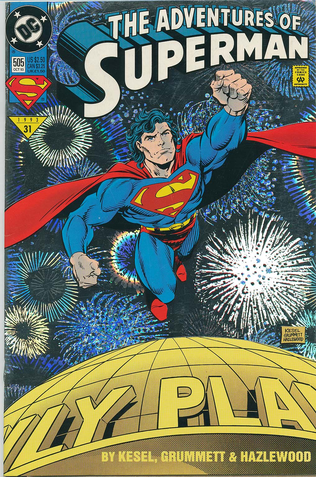Read online Adventures of Superman (1987) comic -  Issue #505 - 1