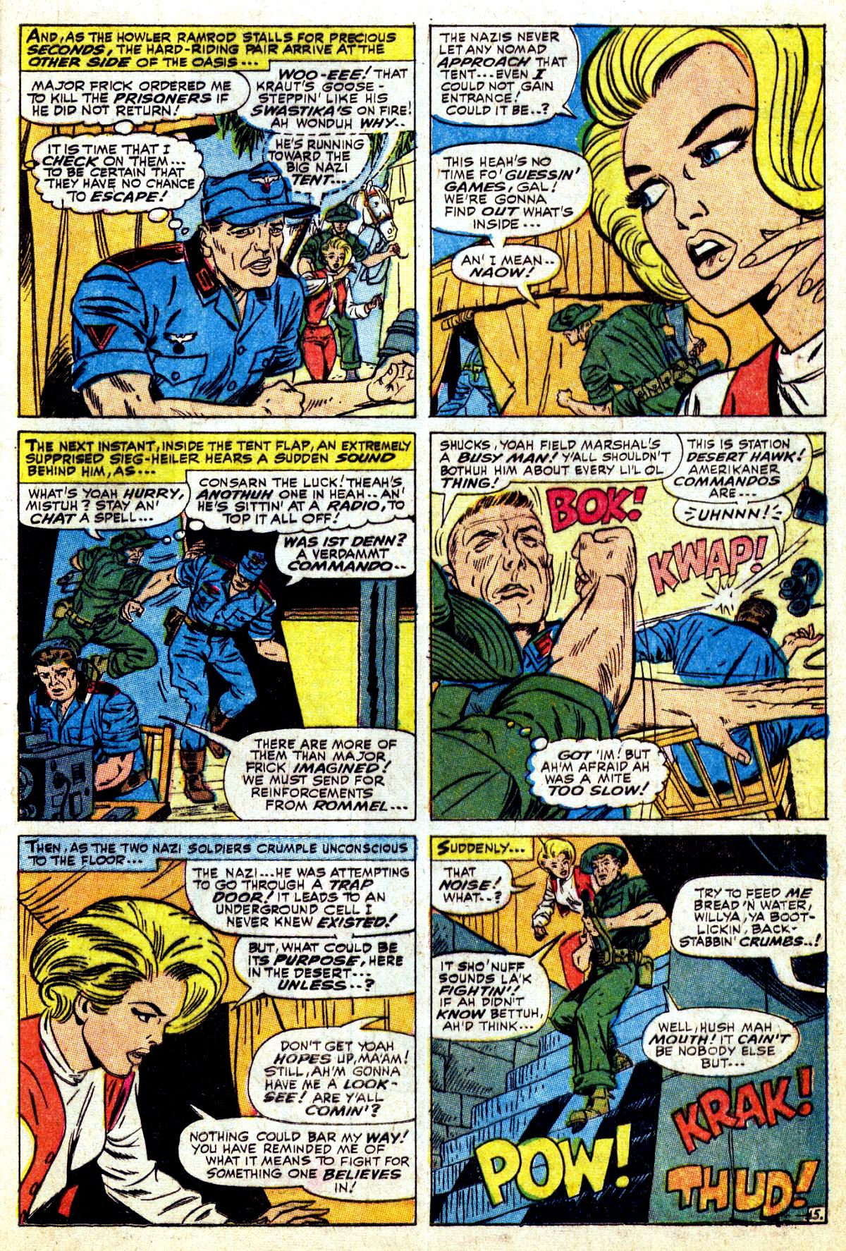 Read online Sgt. Fury comic -  Issue #37 - 21