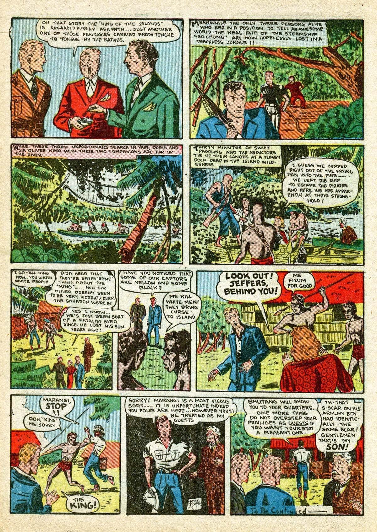Read online Amazing Man Comics comic -  Issue #8 - 20