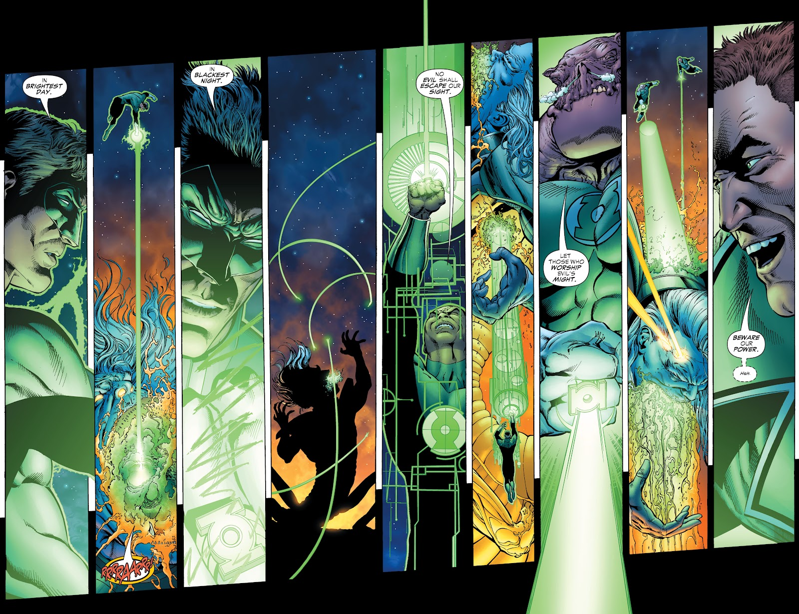 Read online Green Lantern by Geoff Johns comic -  Issue # TPB 1 (Part 2) - 42