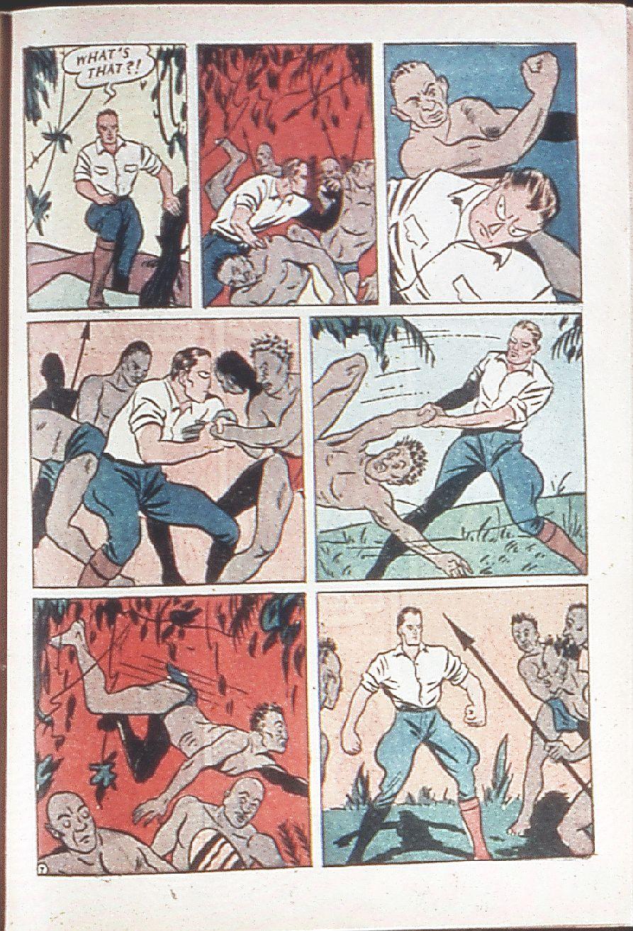Read online Amazing Man Comics comic -  Issue #18 - 63