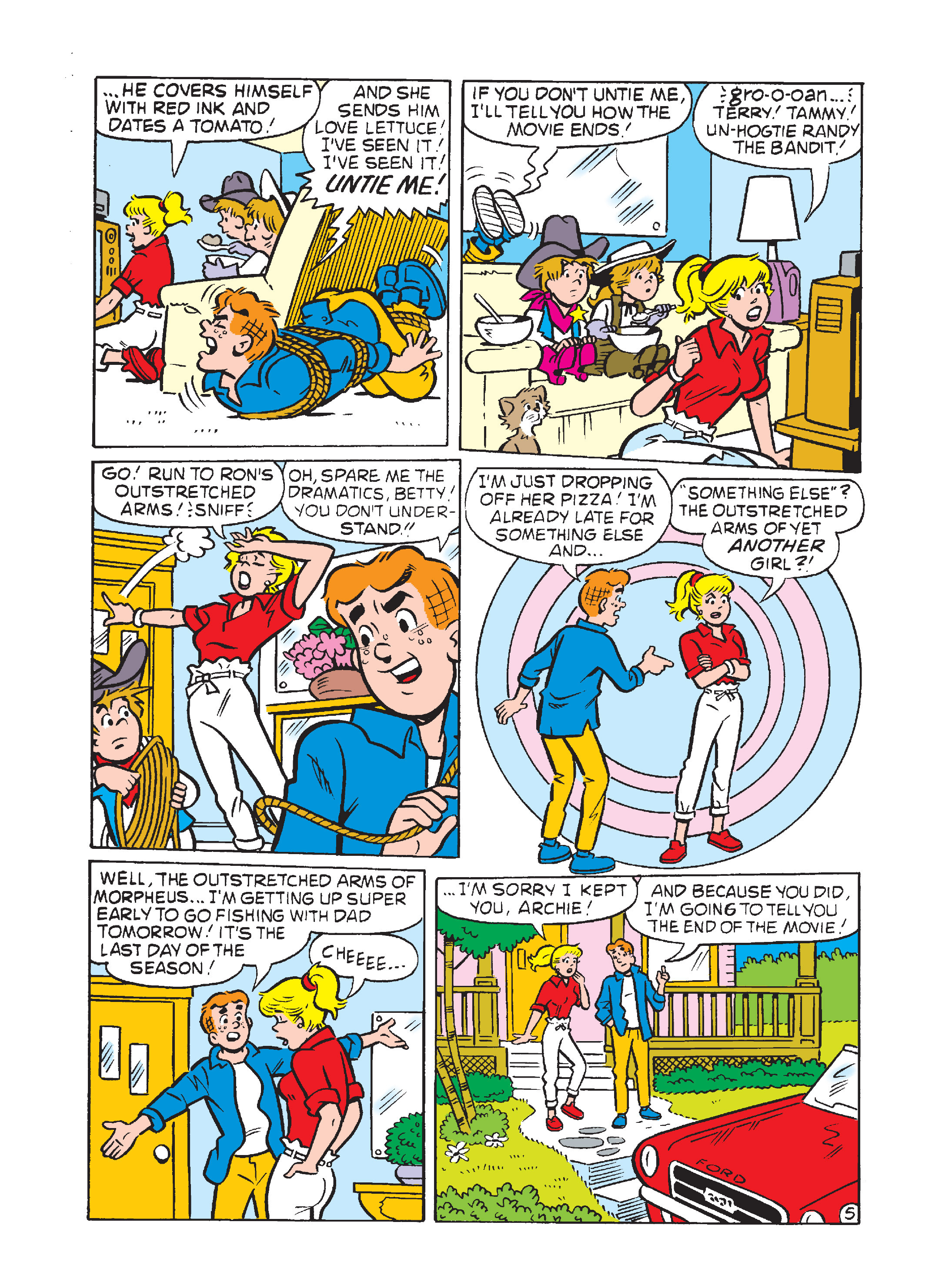 Read online Archie 75th Anniversary Digest comic -  Issue #3 - 149