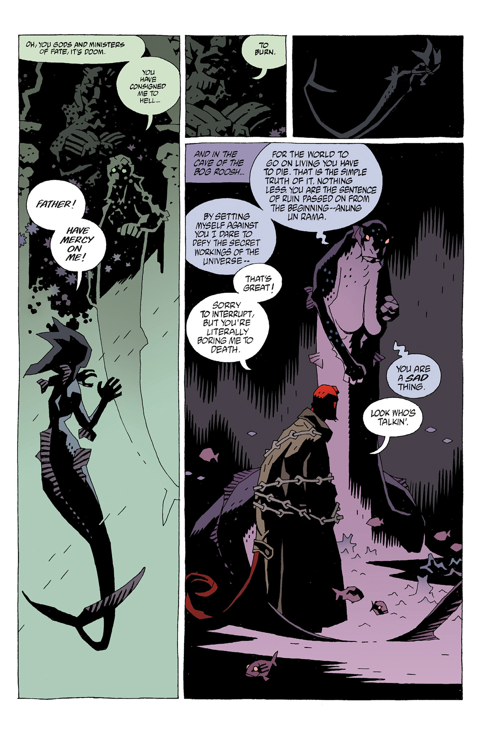 Read online Hellboy: Strange Places comic -  Issue # TPB - 41