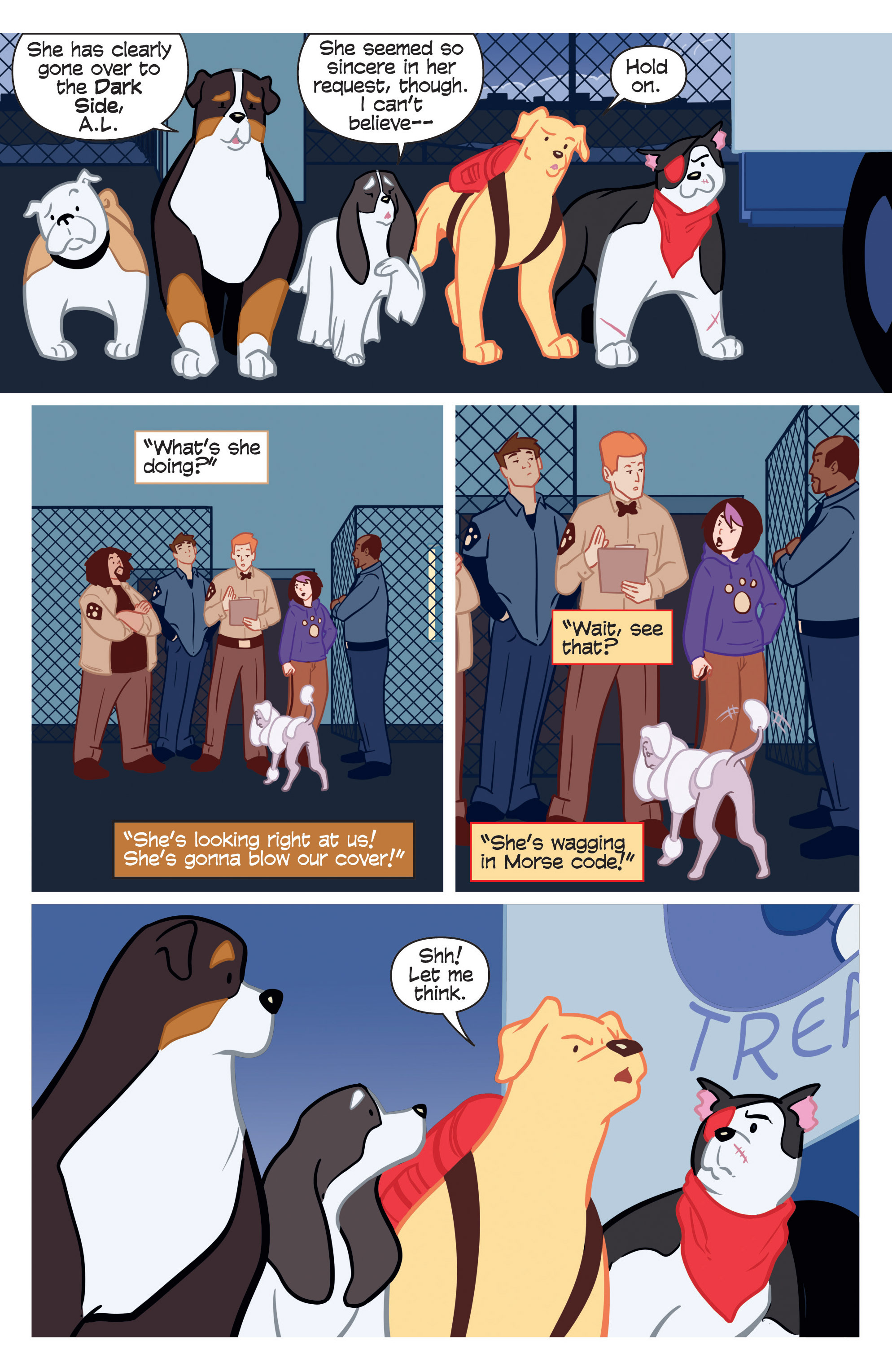 Read online Action Lab, Dog of Wonder comic -  Issue #3 - 3
