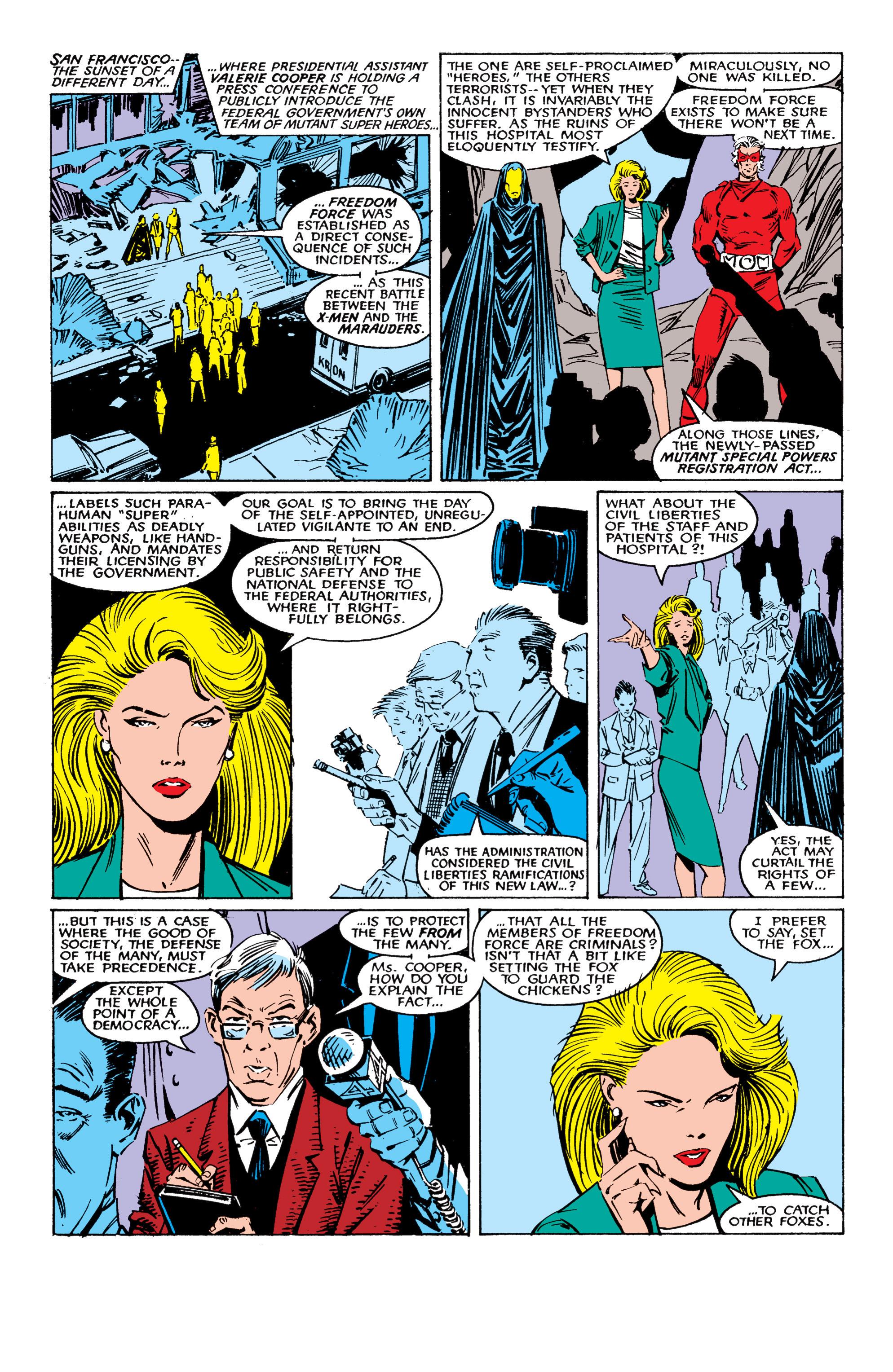 Read online Uncanny X-Men (1963) comic -  Issue #224 - 6