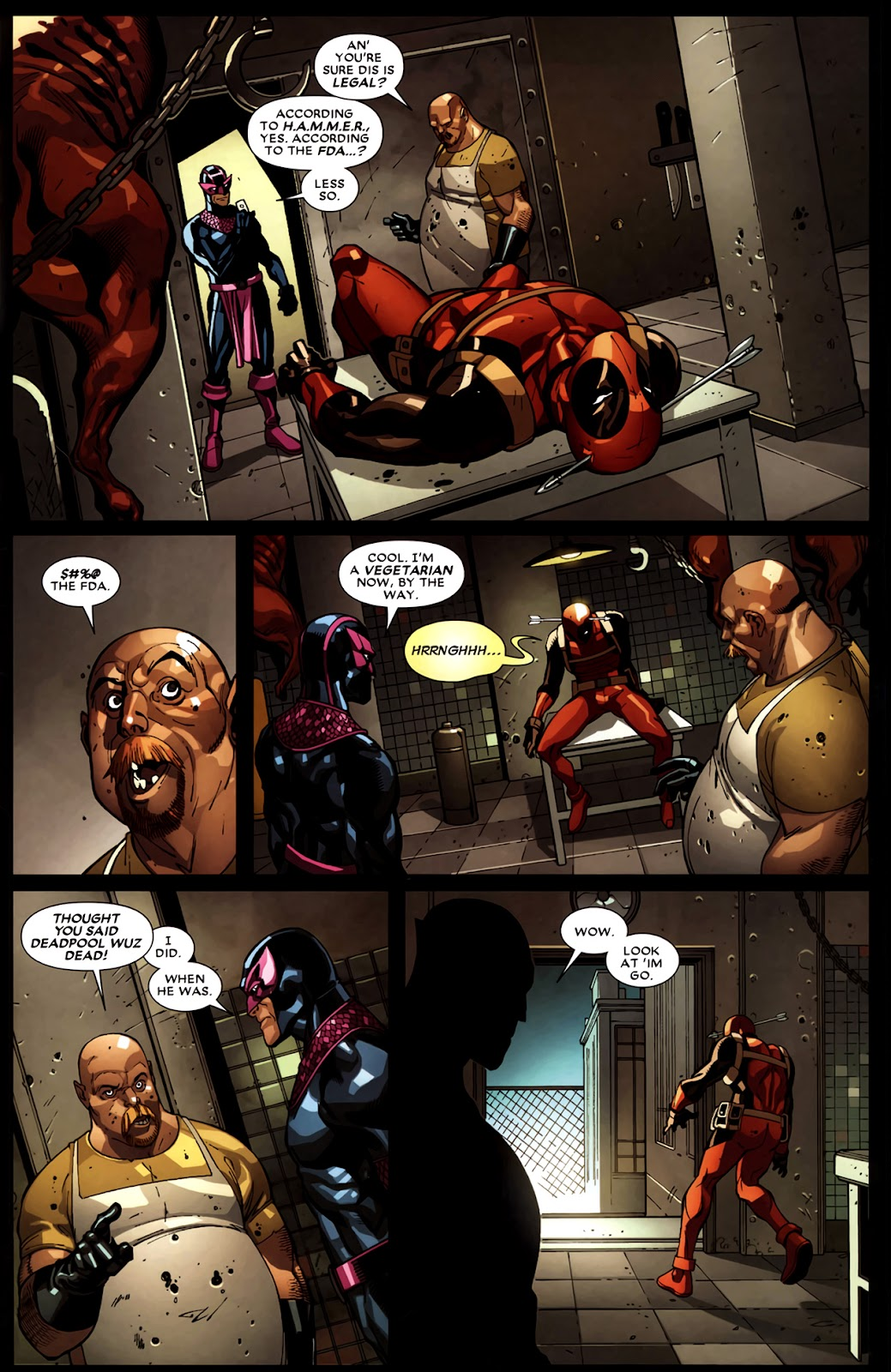 Read online Deadpool (2008) comic -  Issue #11 - 4