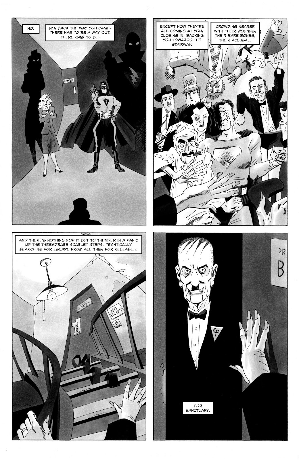 Read online Alan Moore's Cinema Purgatorio comic -  Issue #18 - 11