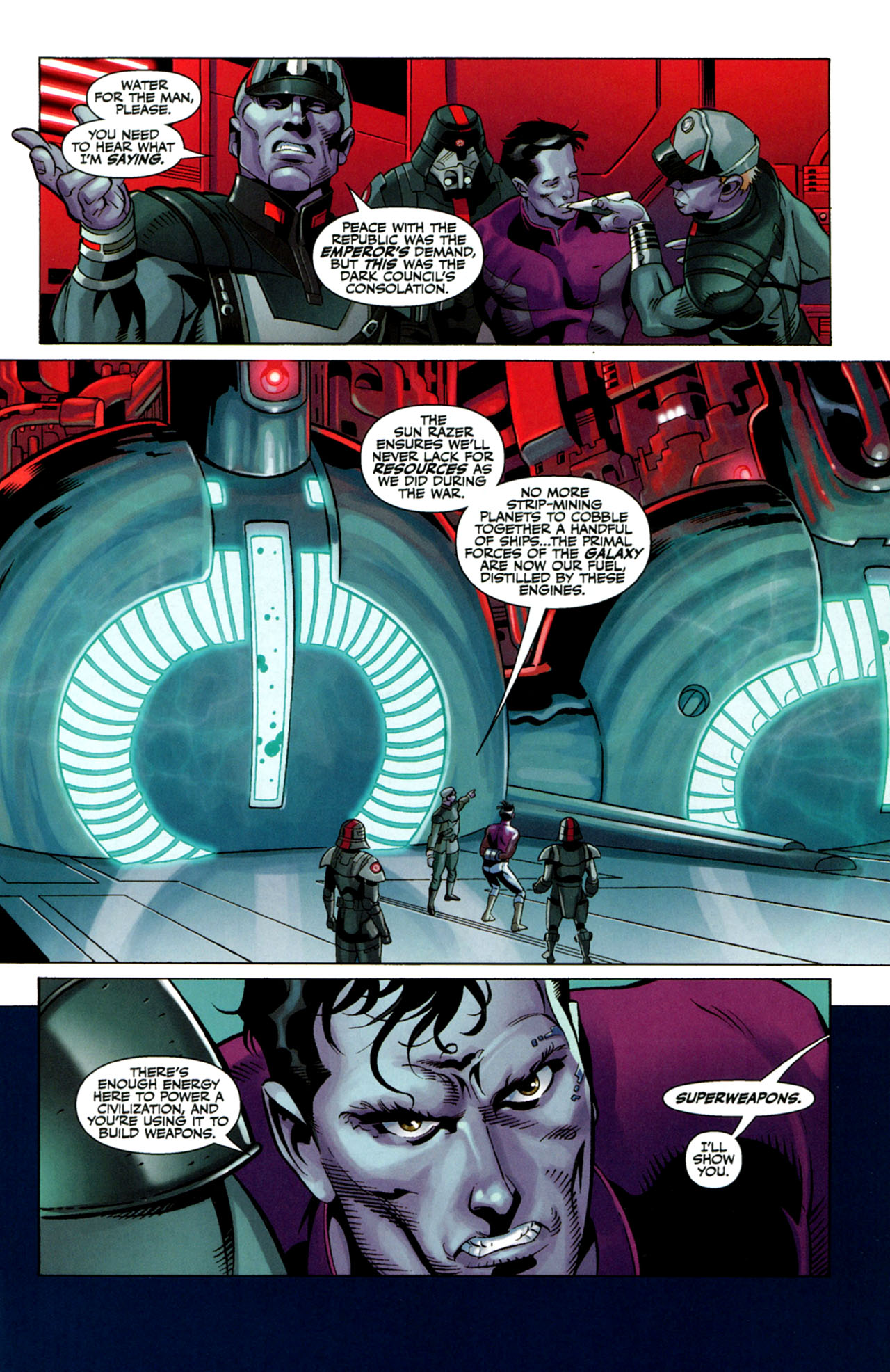 Read online Star Wars: The Old Republic - The Lost Suns comic -  Issue #4 - 7