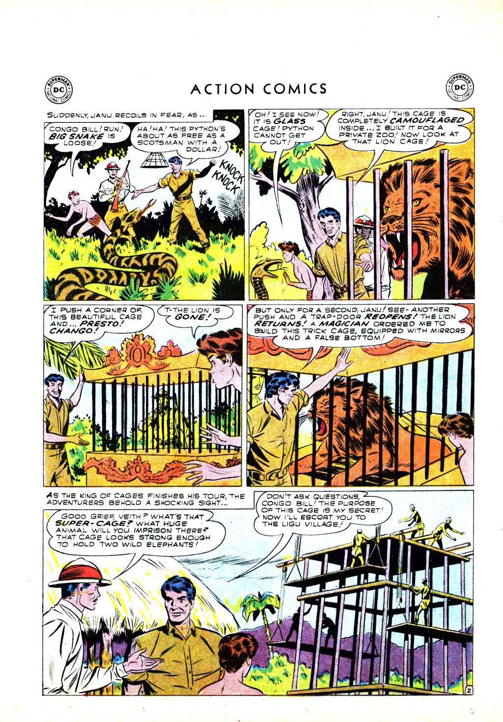 Read online Action Comics (1938) comic -  Issue #246 - 20