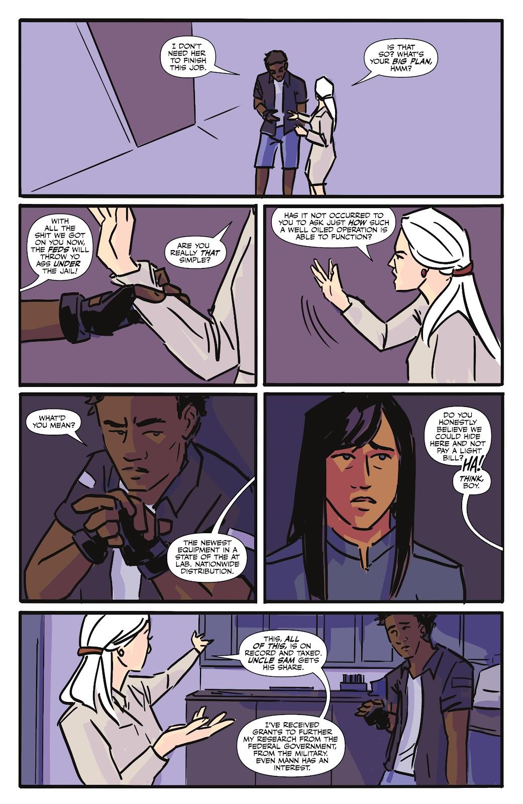 Read online Black (AF): Devil's Dye comic -  Issue #3 - 25