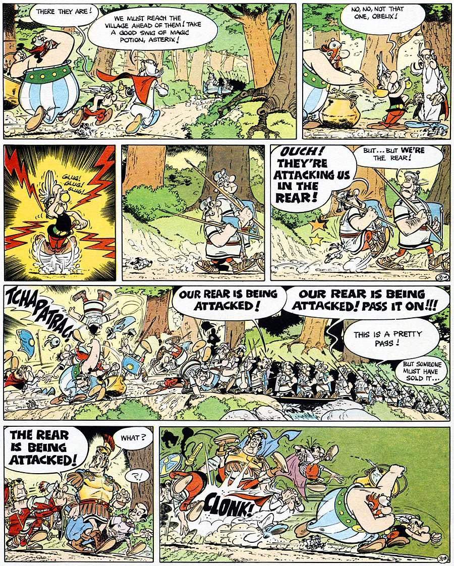 Read online Asterix comic -  Issue #15 - 36