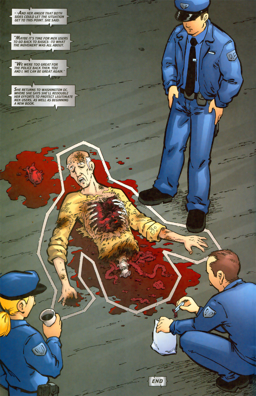 Read online Mek comic -  Issue #3 - 26