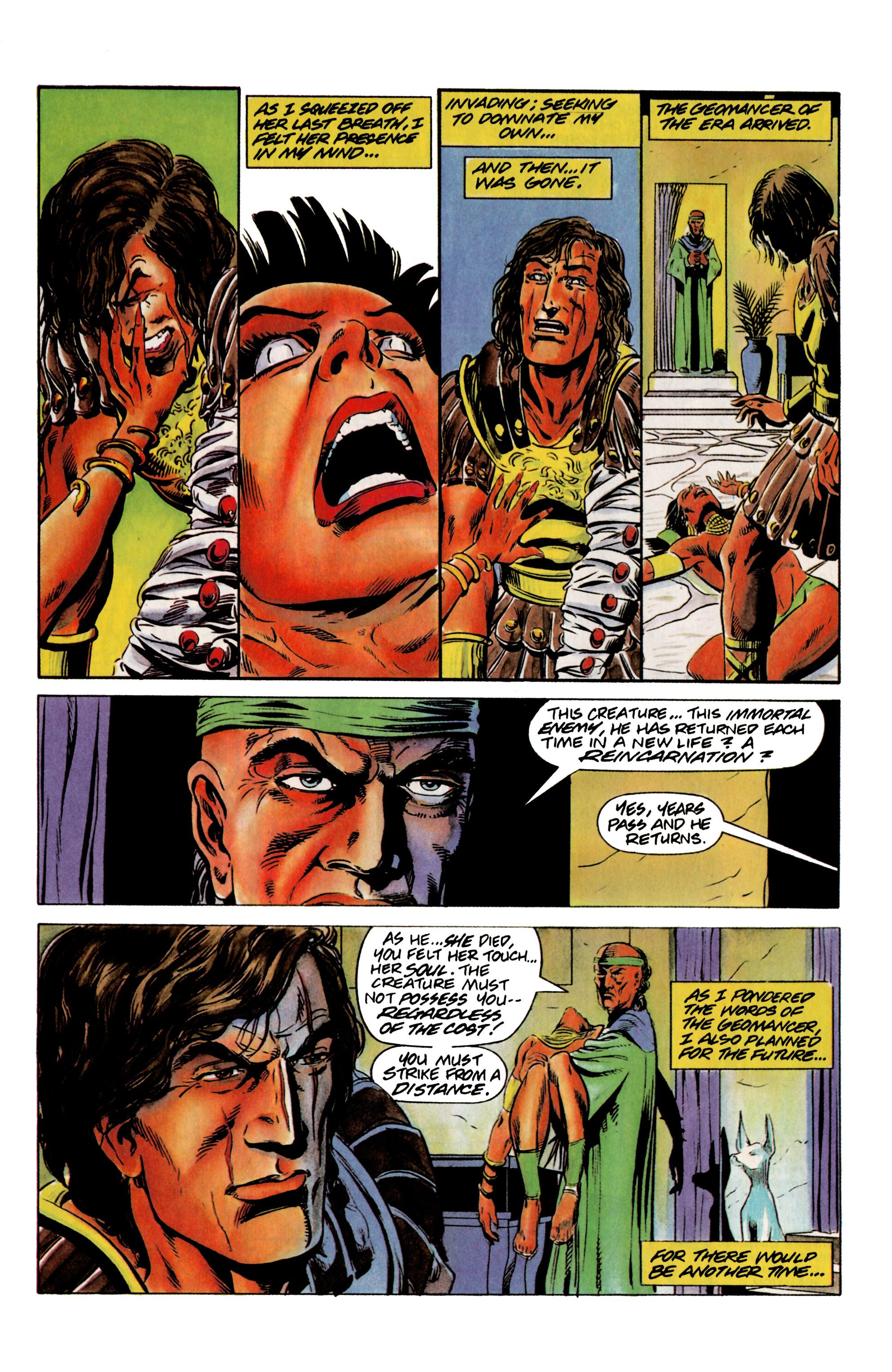 Read online Eternal Warrior (1992) comic -  Issue #12 - 6