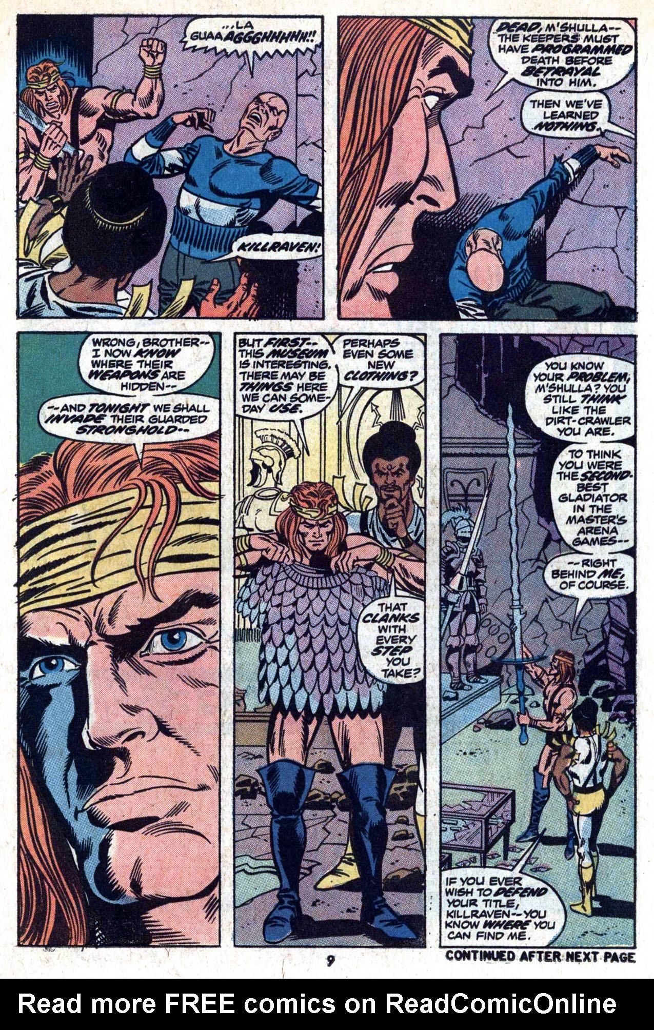Read online Amazing Adventures (1970) comic -  Issue #20 - 11