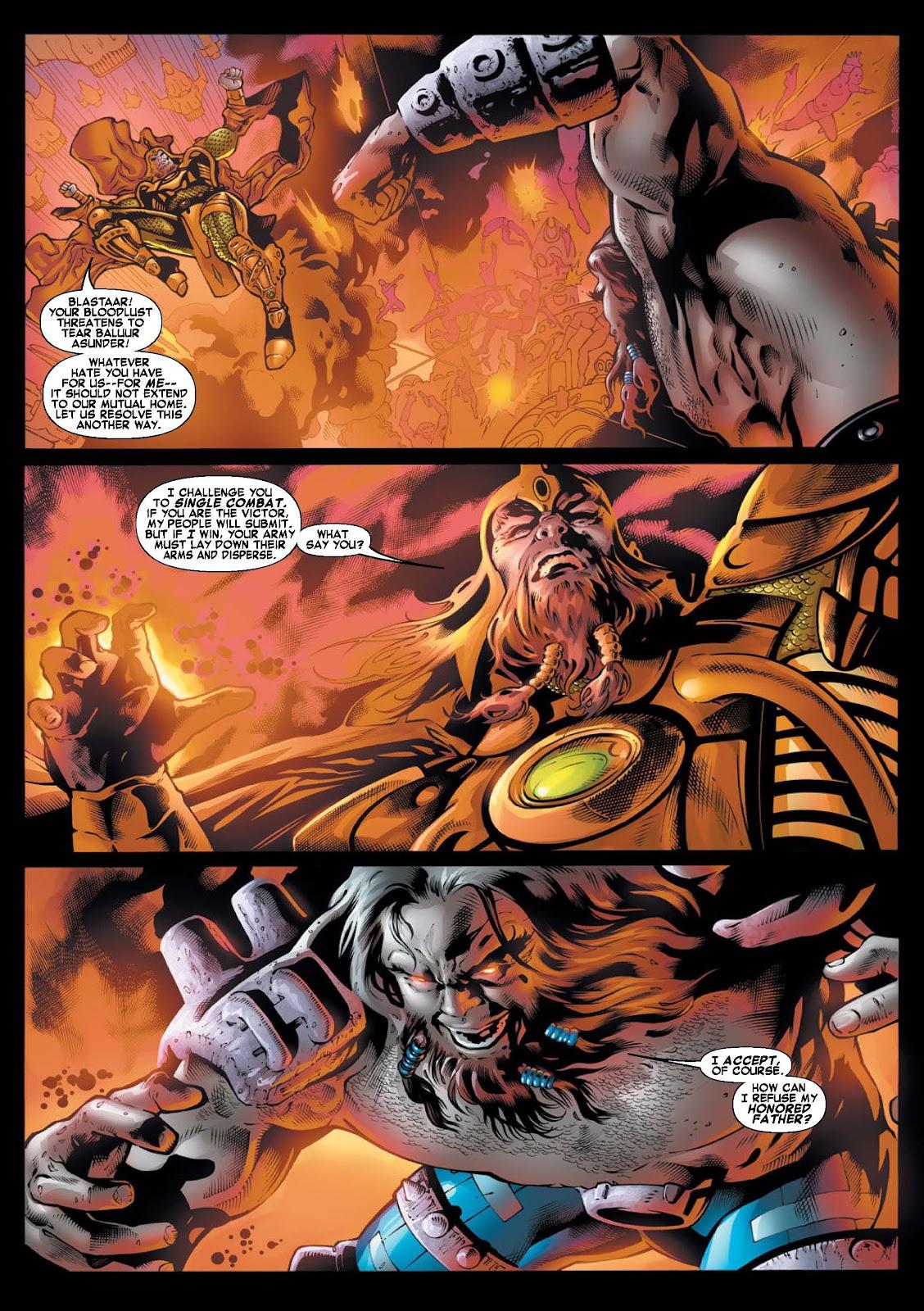 War of Kings: Warriors - Blastaar Issue #1 #1 - English 9