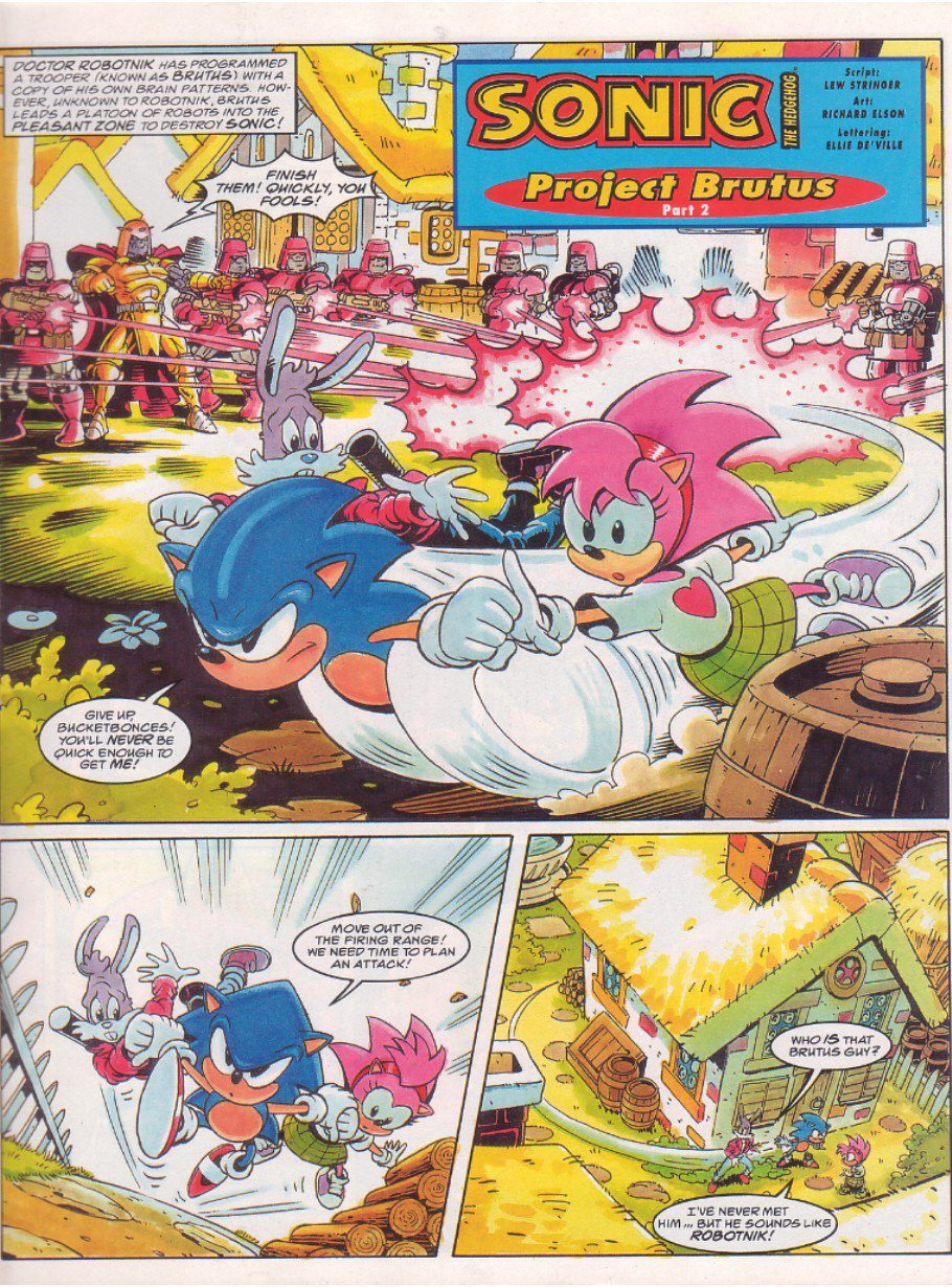 Read online Sonic the Comic comic -  Issue #64 - 3