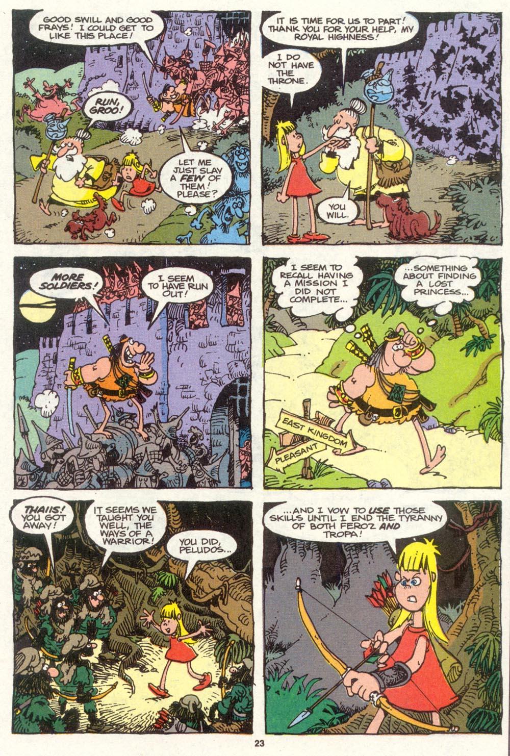 Read online Sergio Aragonés Groo the Wanderer comic -  Issue #83 - 17