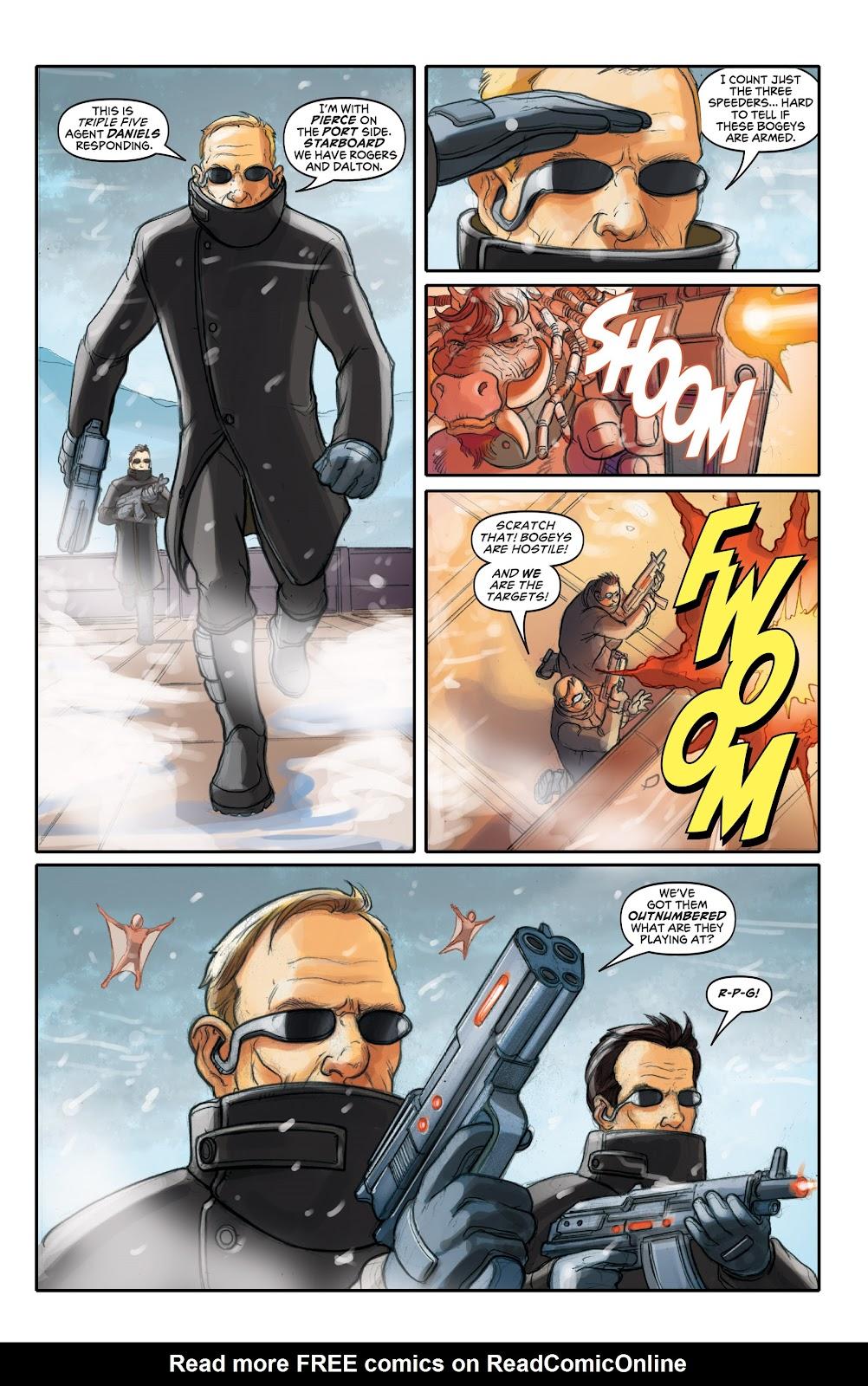 Read online Elephantmen 2261 Season Two: The Pentalion Job comic -  Issue # TPB - 32