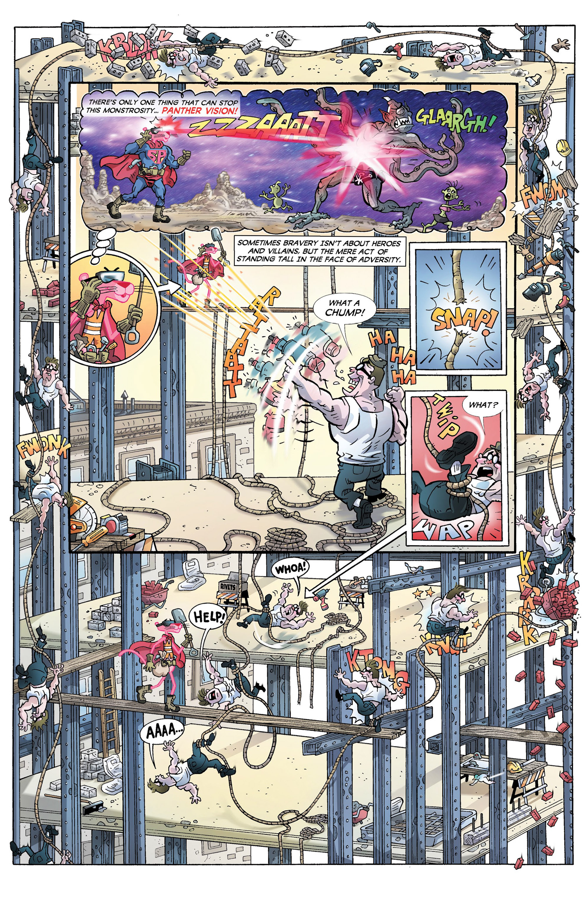 Read online Pink Panther Super-Pink Special comic -  Issue # Full - 10