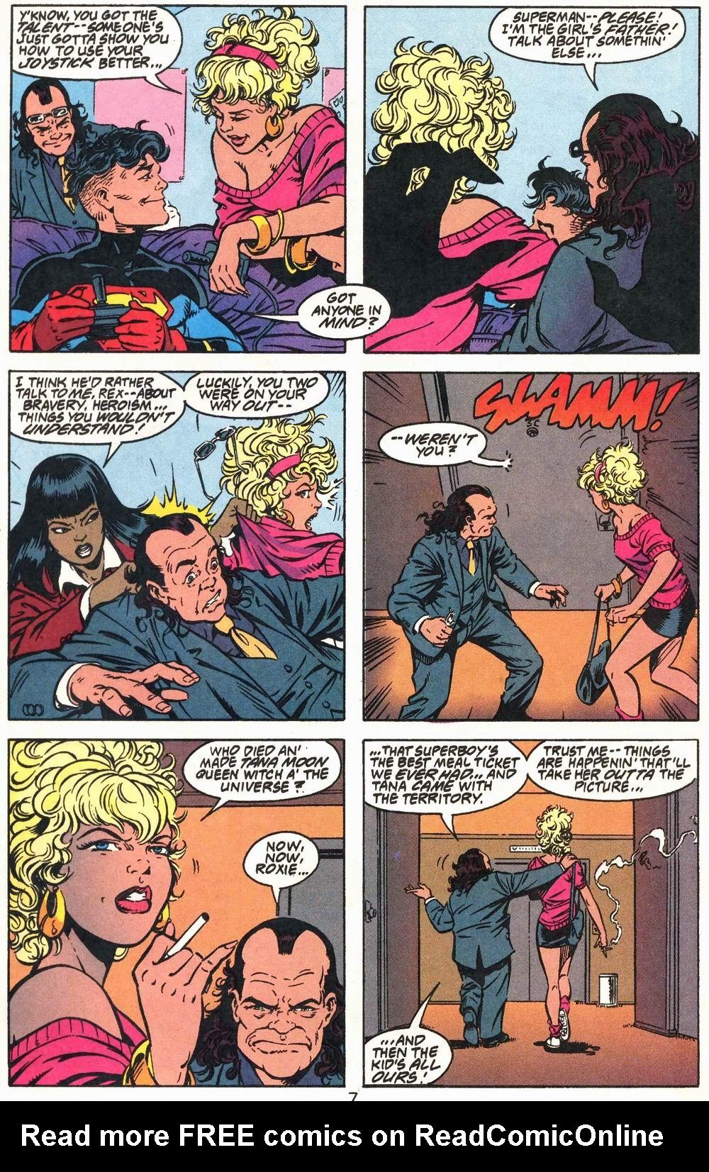 Read online Adventures of Superman (1987) comic -  Issue #503 - 8