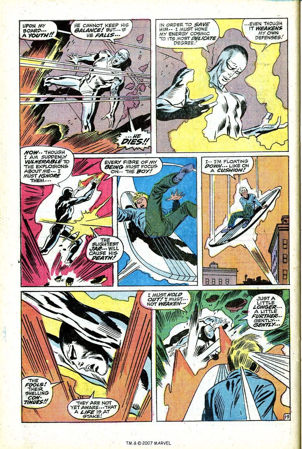 Read online Silver Surfer (1968) comic -  Issue #14 - 28