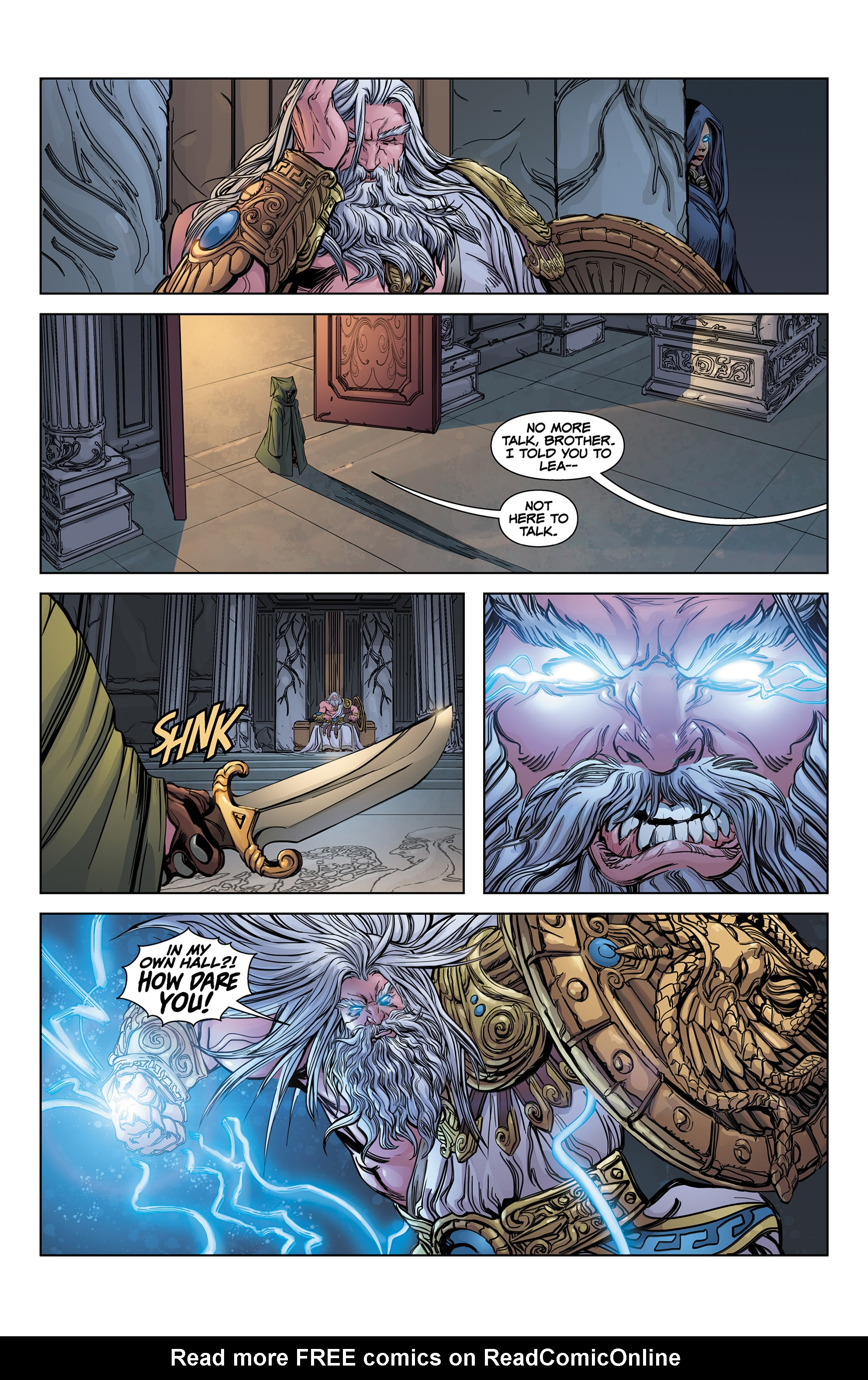 Read online SMITE: The Pantheon War comic -  Issue #1 - 15