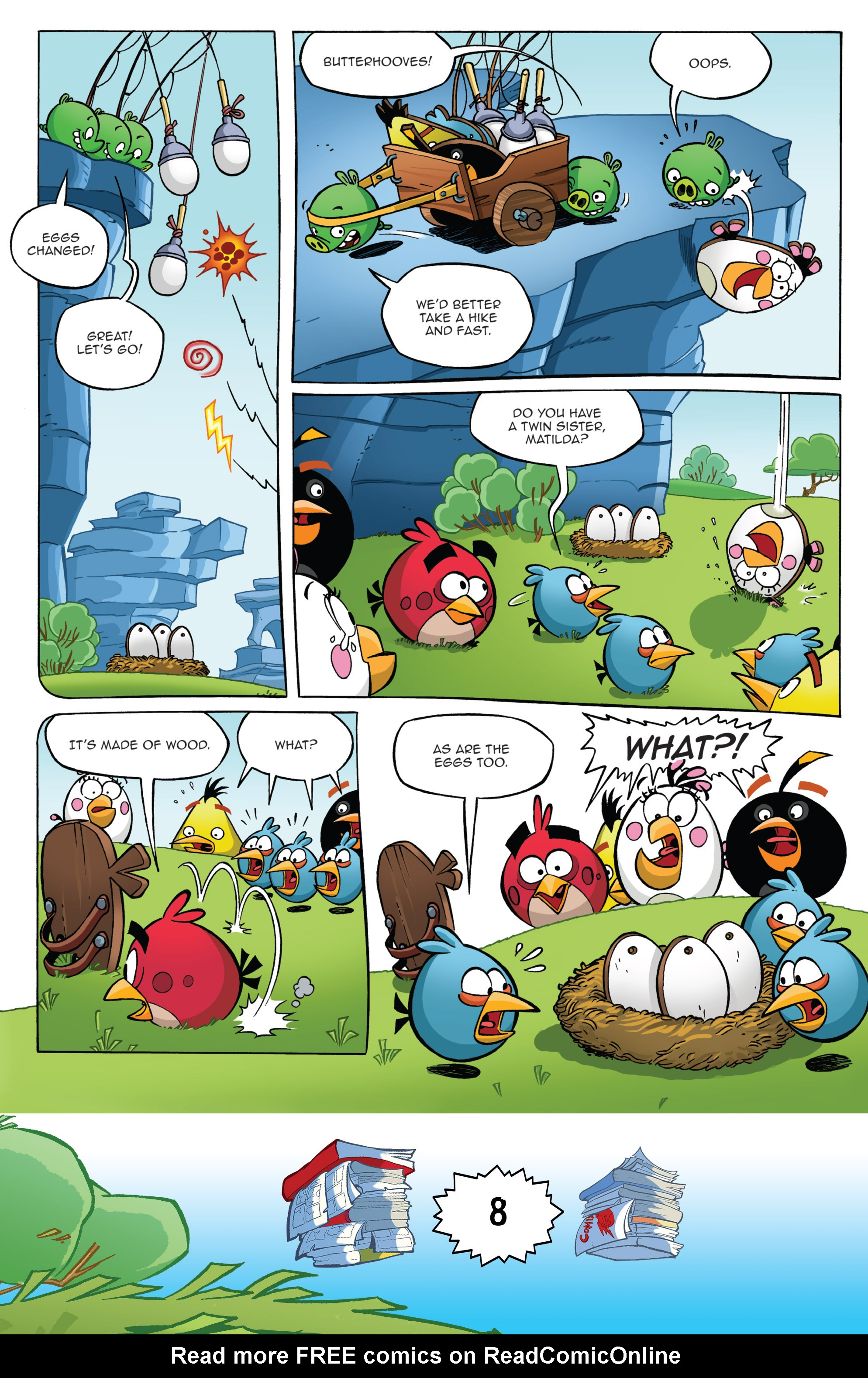 Read online Angry Birds Comics (2016) comic -  Issue #6 - 10
