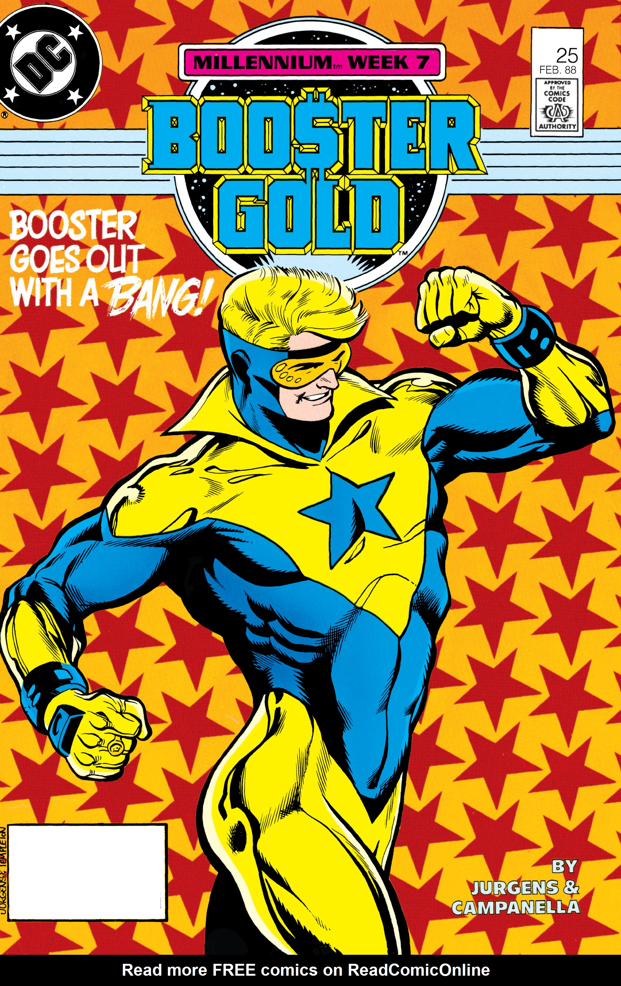 Booster Gold 1986 Issue 25