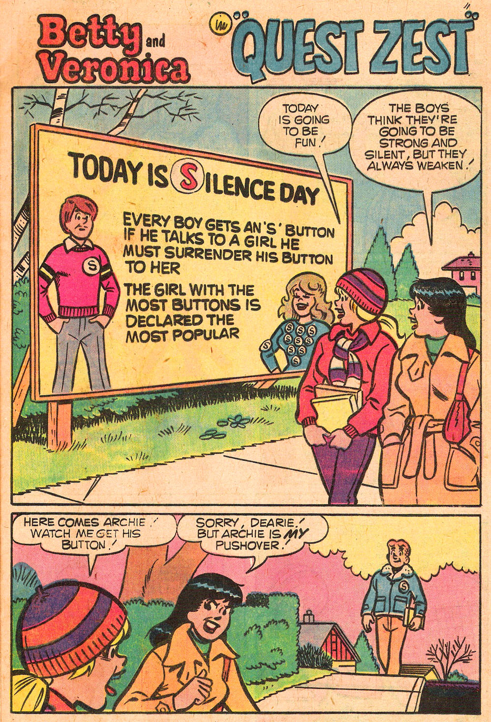 Read online Archie's Girls Betty and Veronica comic -  Issue #267 - 13