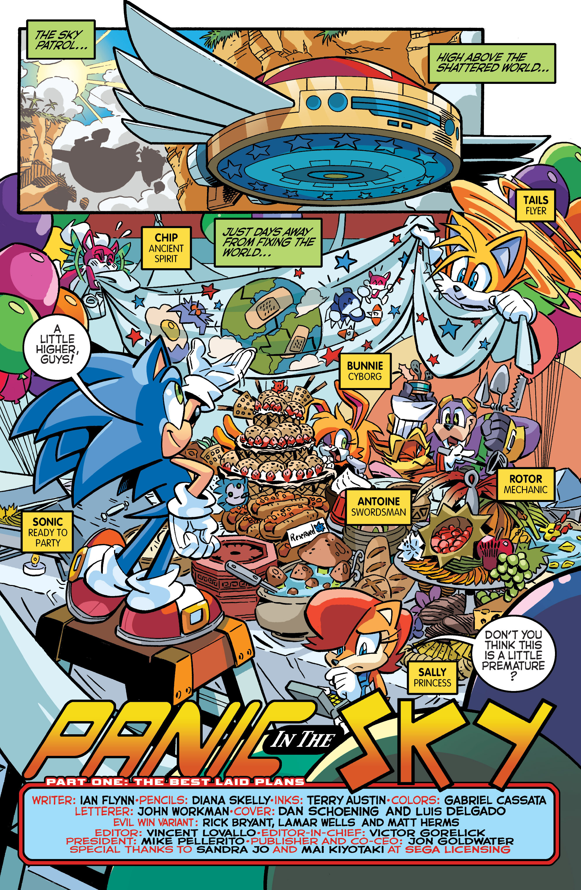 Read online Sonic The Hedgehog comic -  Issue #284 - 3