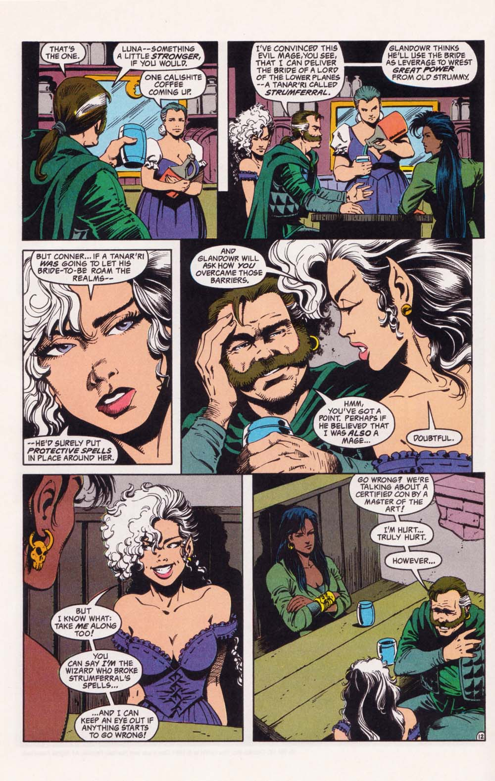 Read online Advanced Dungeons & Dragons comic -  Issue #34 - 12