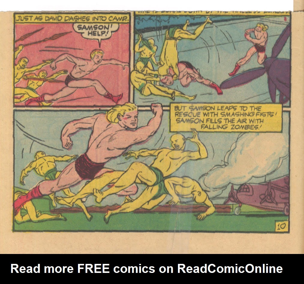 Read online Fantastic Comics comic -  Issue #23 - 11