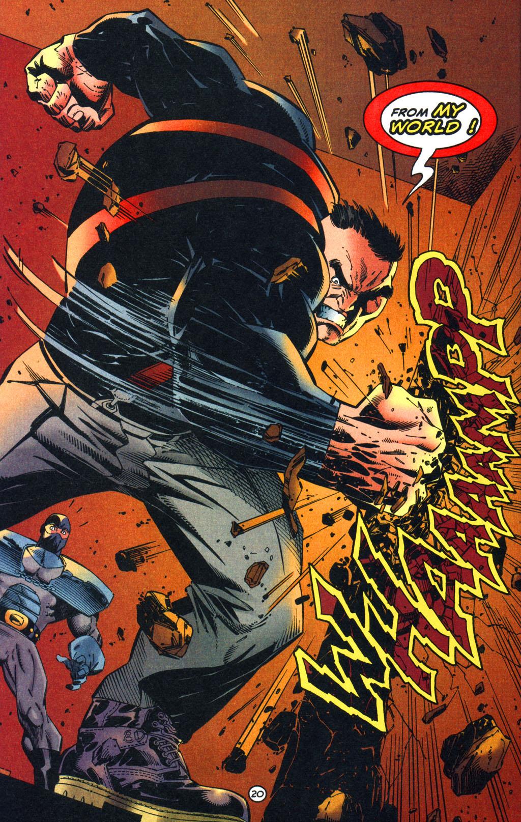 Read online Batman/Wildcat comic -  Issue #1 - 20
