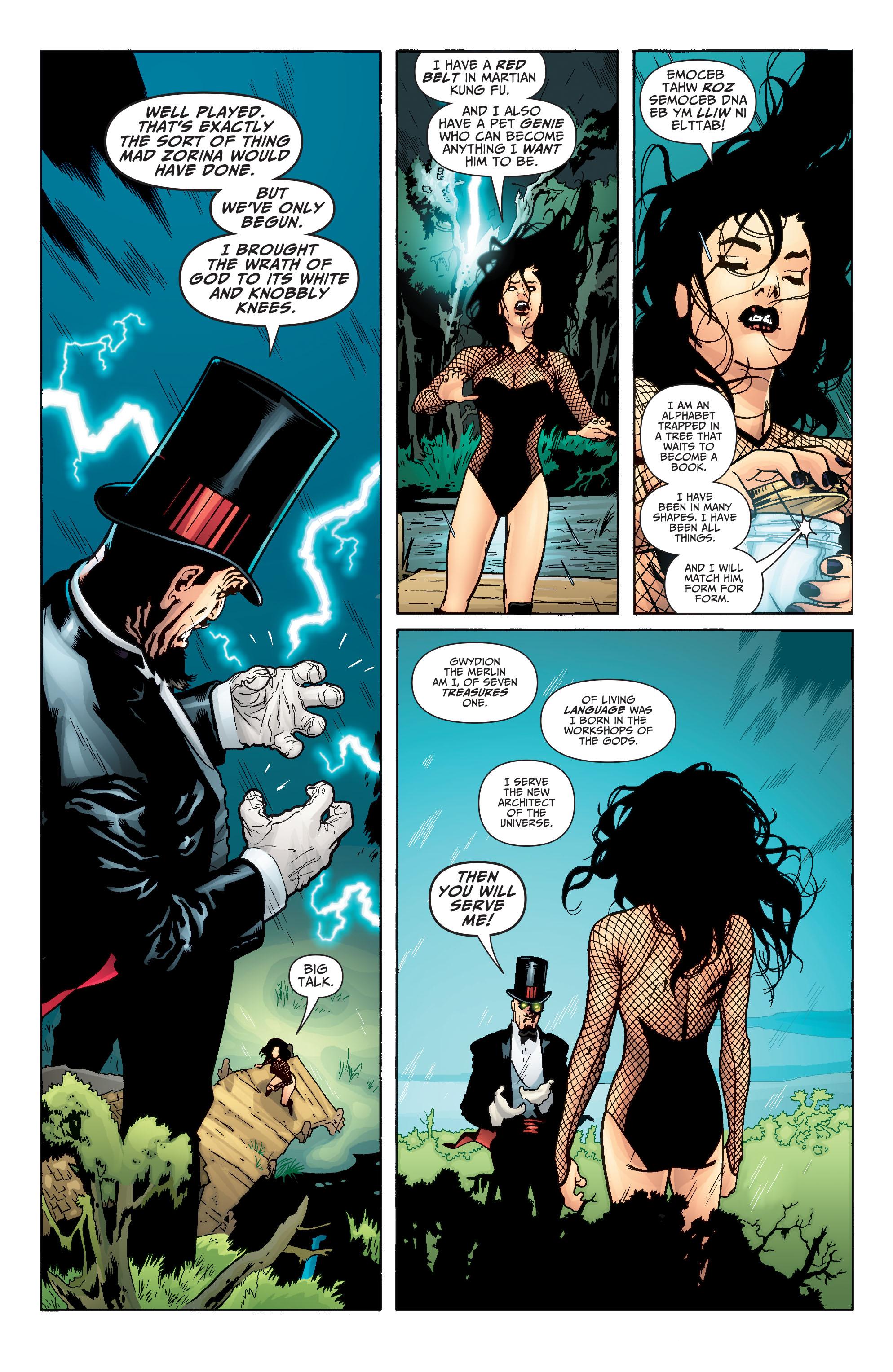 Read online Seven Soldiers: Zatanna comic -  Issue #4 - 10