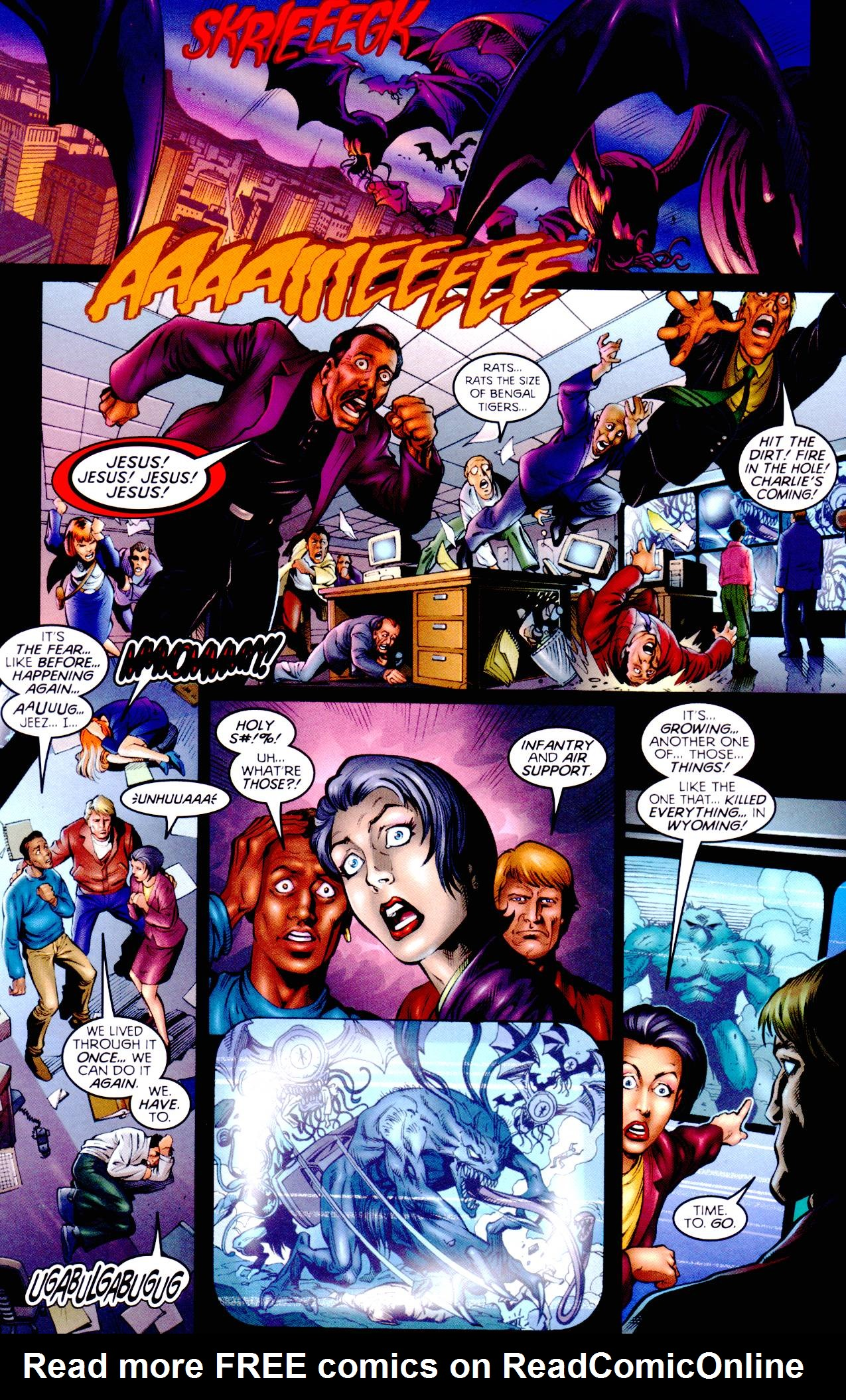 Read online Armageddon (1999) comic -  Issue #2 - 7