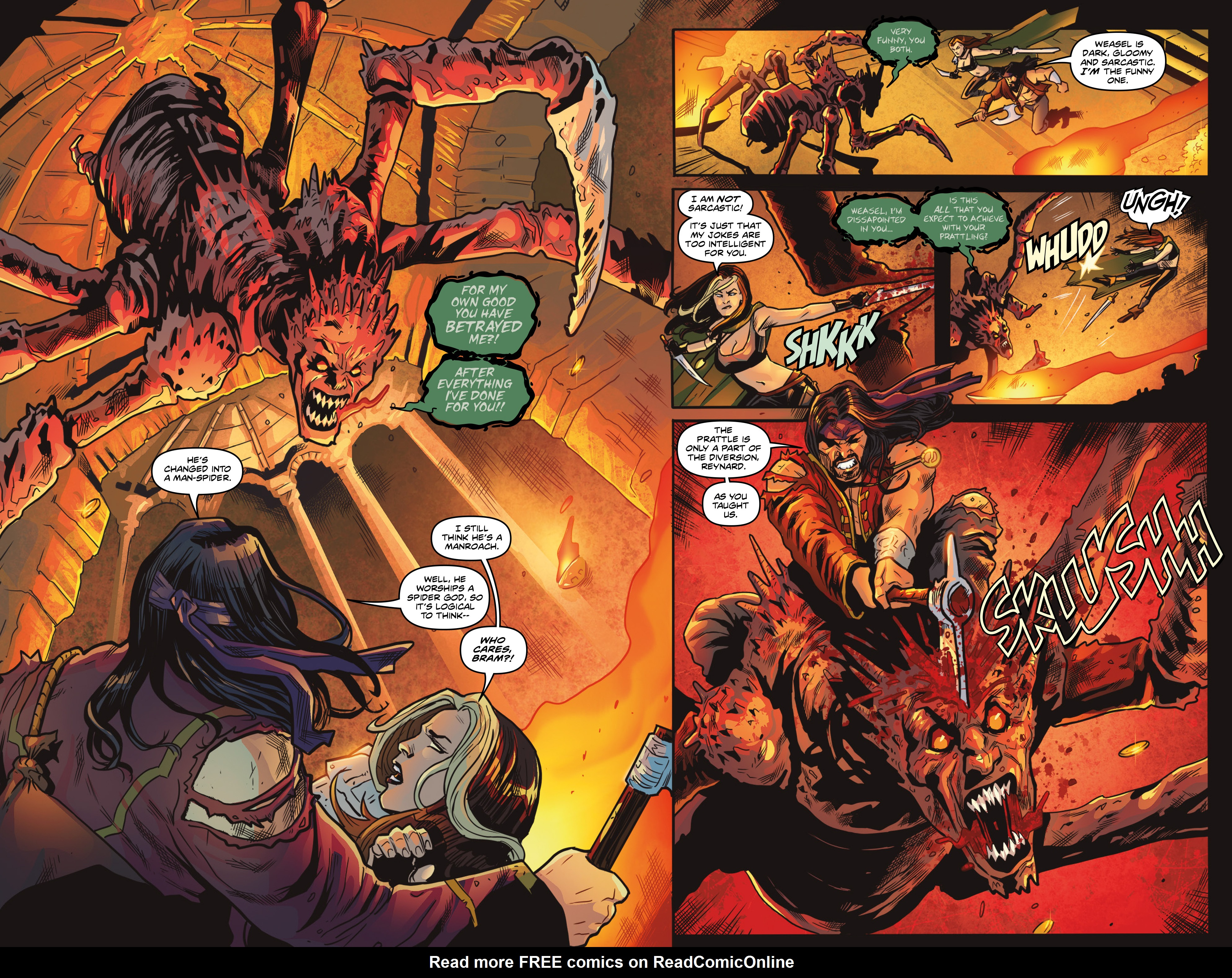 Read online Rogues!: The Burning Heart comic -  Issue #5 - 18