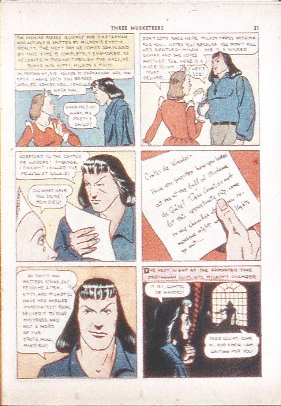 Read online Shadow Comics comic -  Issue #6 - 23
