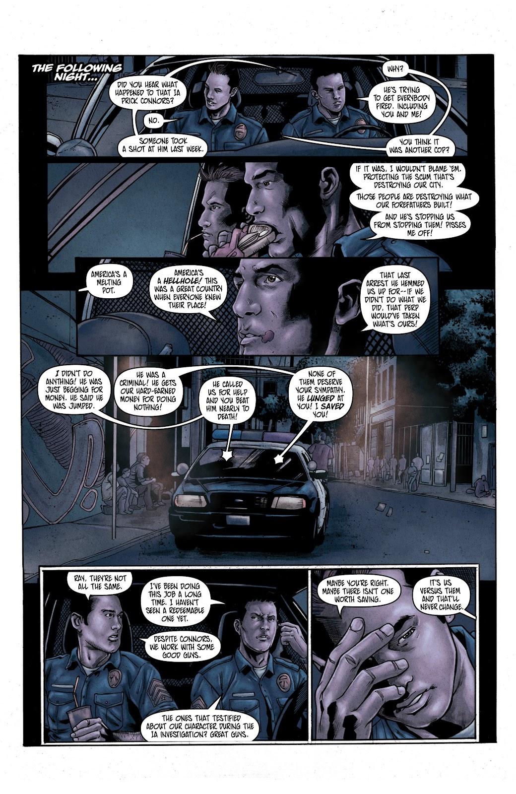 Read online Vindication comic -  Issue #2 - 9