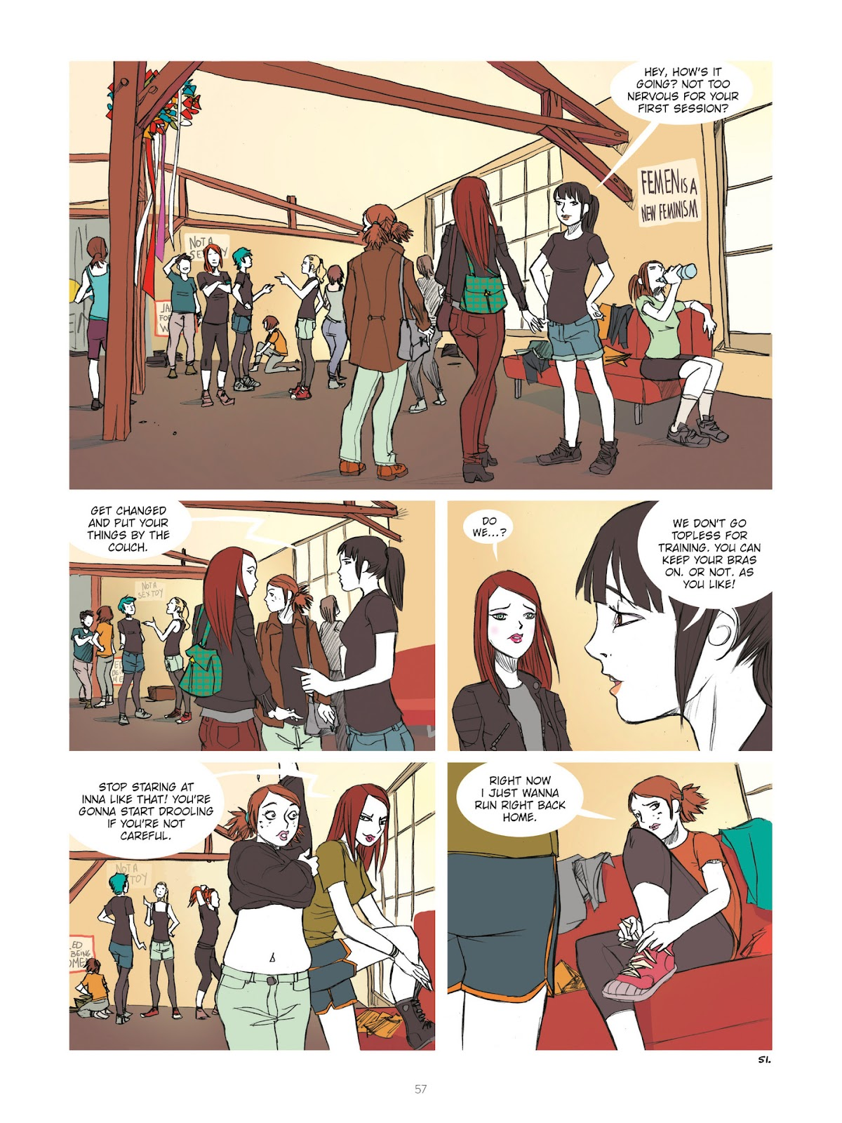 Read online Diary of A Femen comic -  Issue # TPB - 59