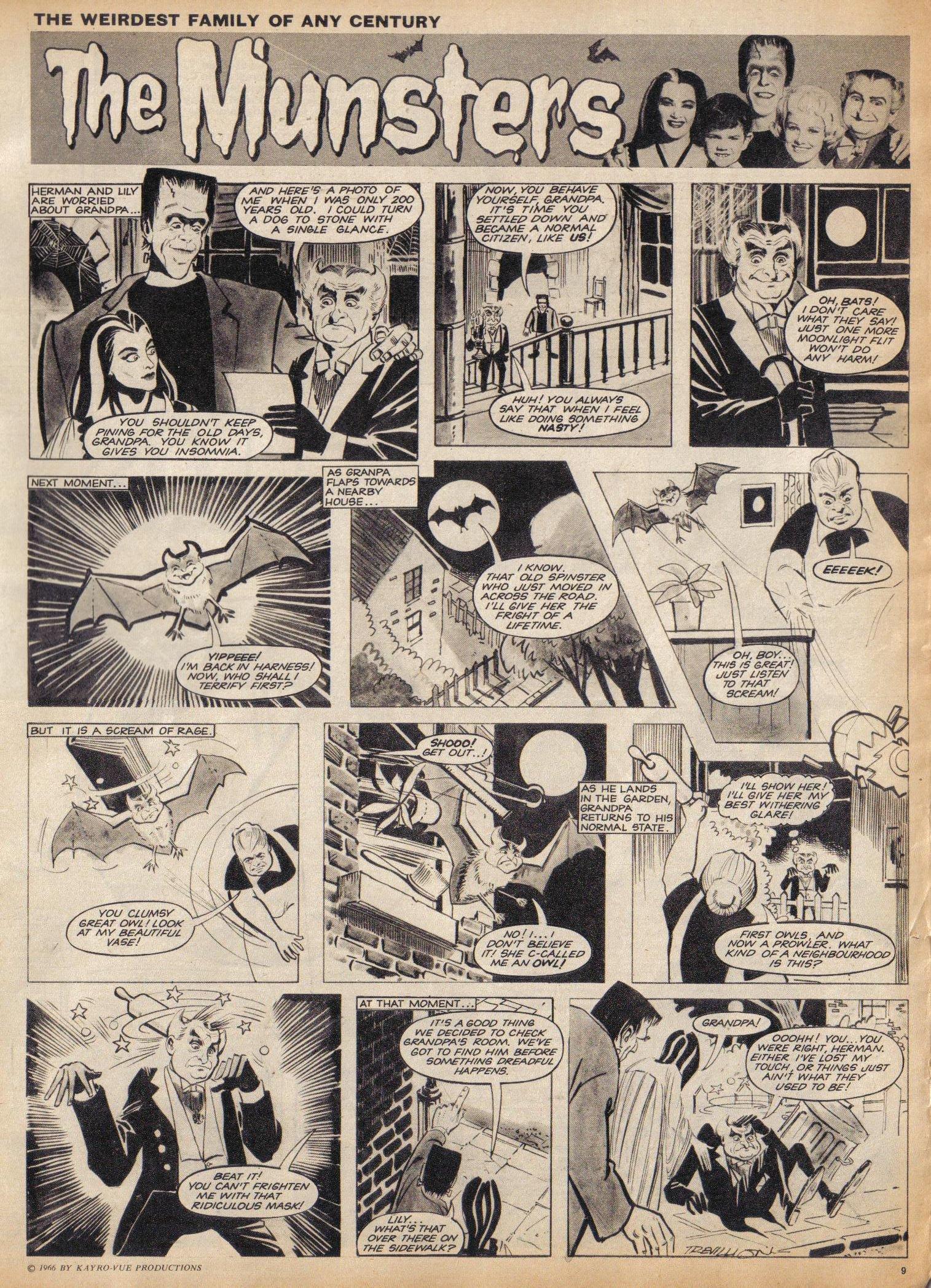 Read online TV Century 21 (TV 21) comic -  Issue #58 - 9