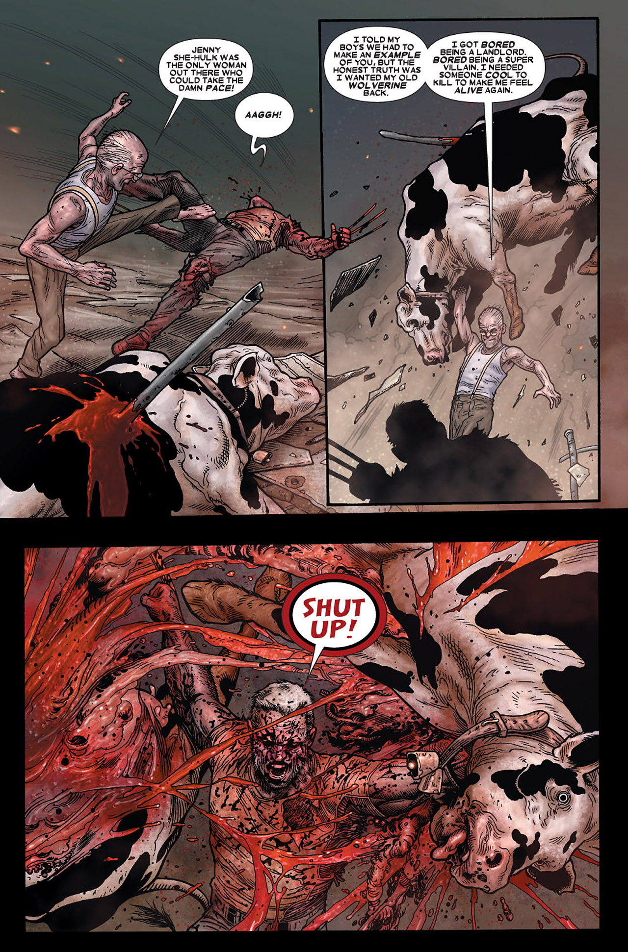 Read online Wolverine: Old Man Logan comic -  Issue # Full - 183