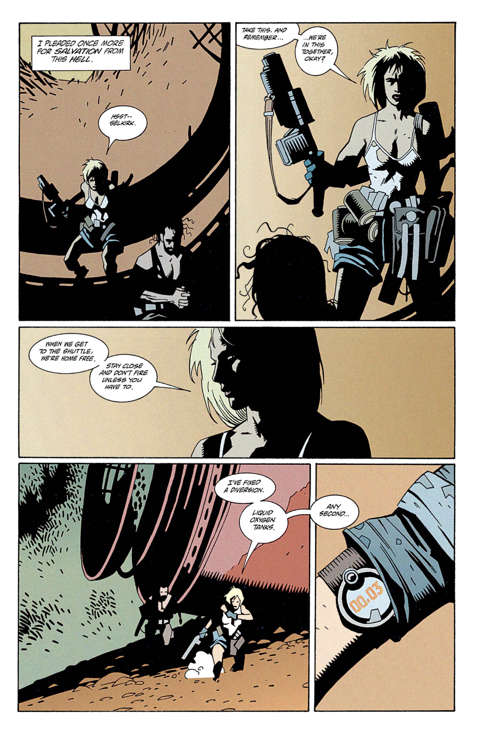 Read online Aliens: Salvation comic -  Issue # TPB - 36