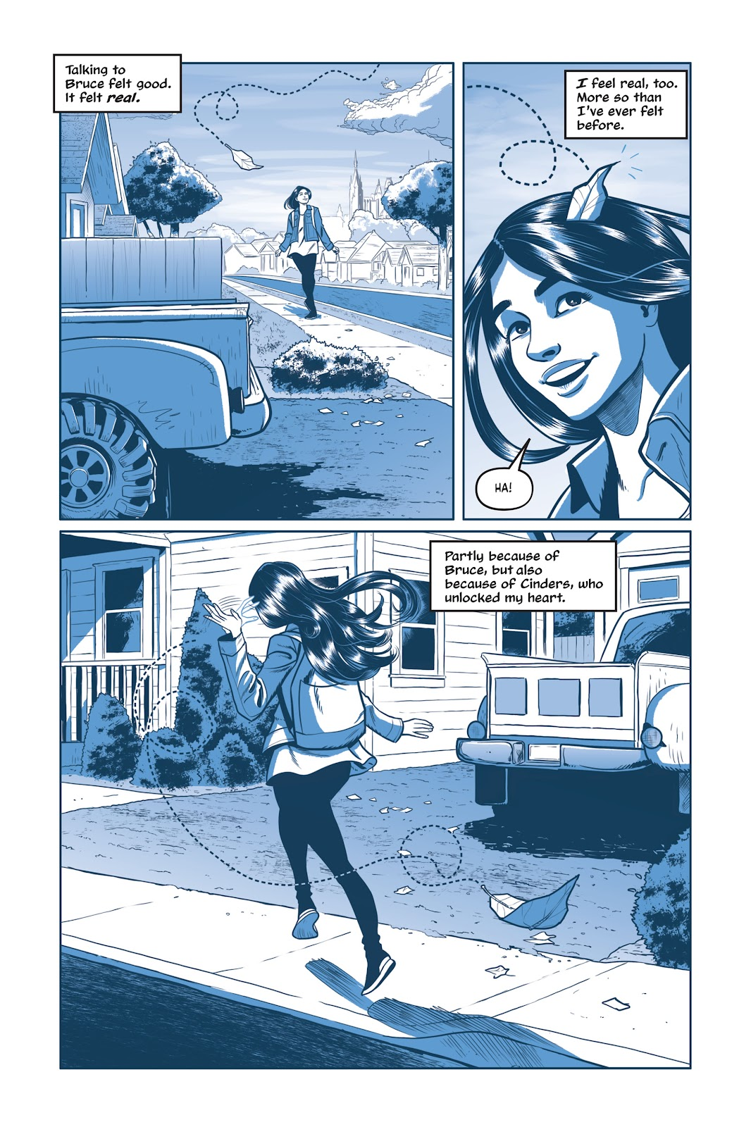 Read online Under the Moon: A Catwoman Tale comic -  Issue # TPB (Part 1) - 57