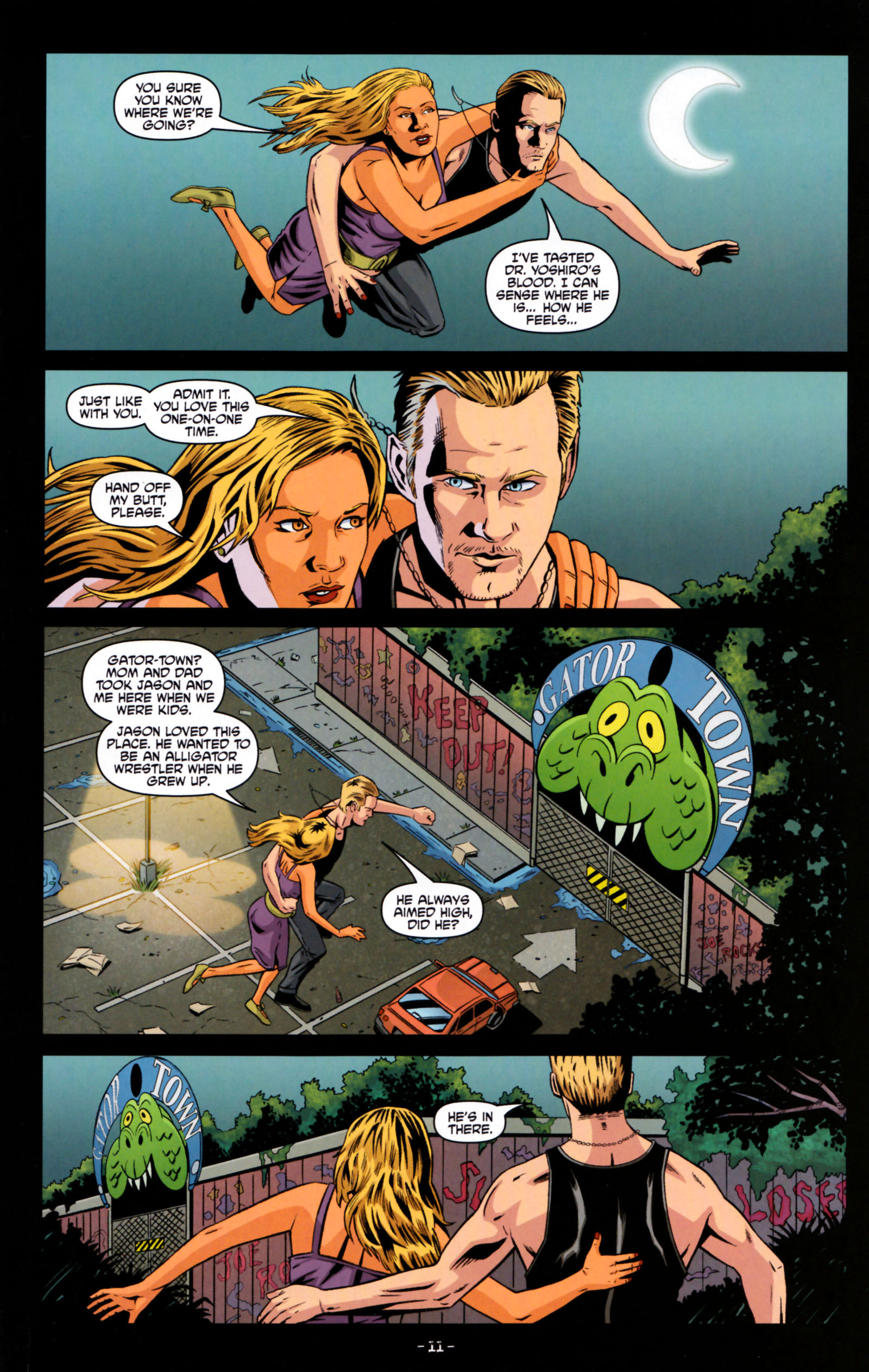 Read online True Blood: Tainted Love comic -  Issue #5 - 14