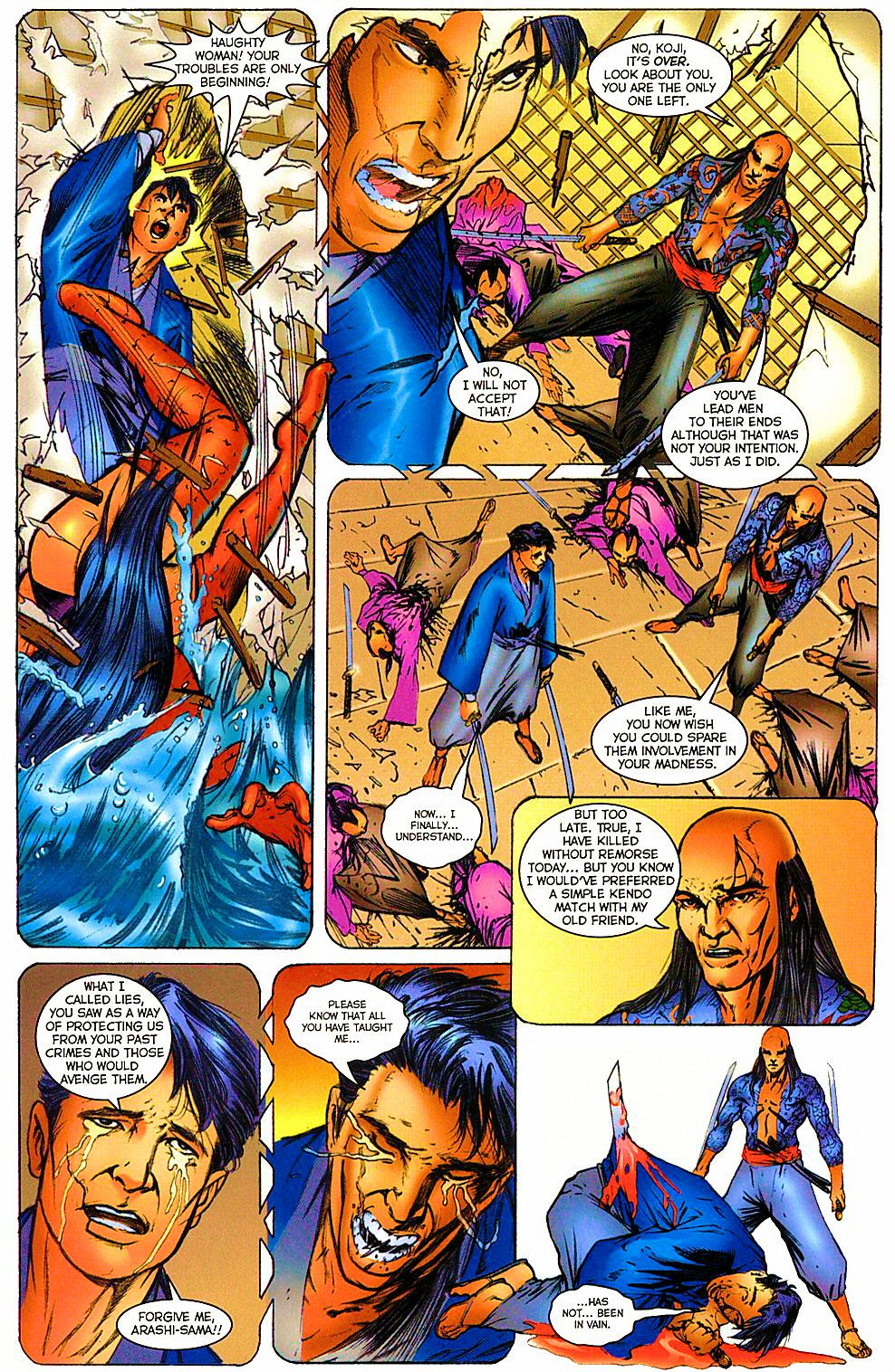 Read online Shi: The Way of the Warrior comic -  Issue #12 - 14