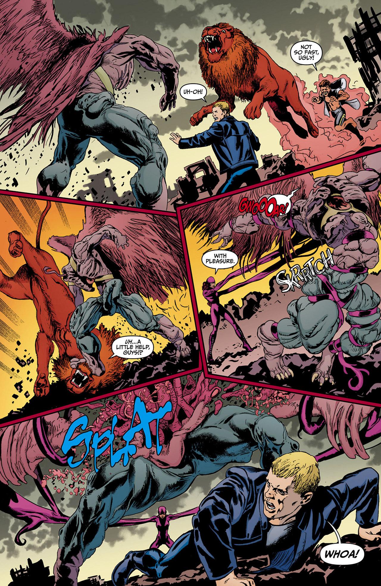 Read online Animal Man (2011) comic -  Issue #13 - 7