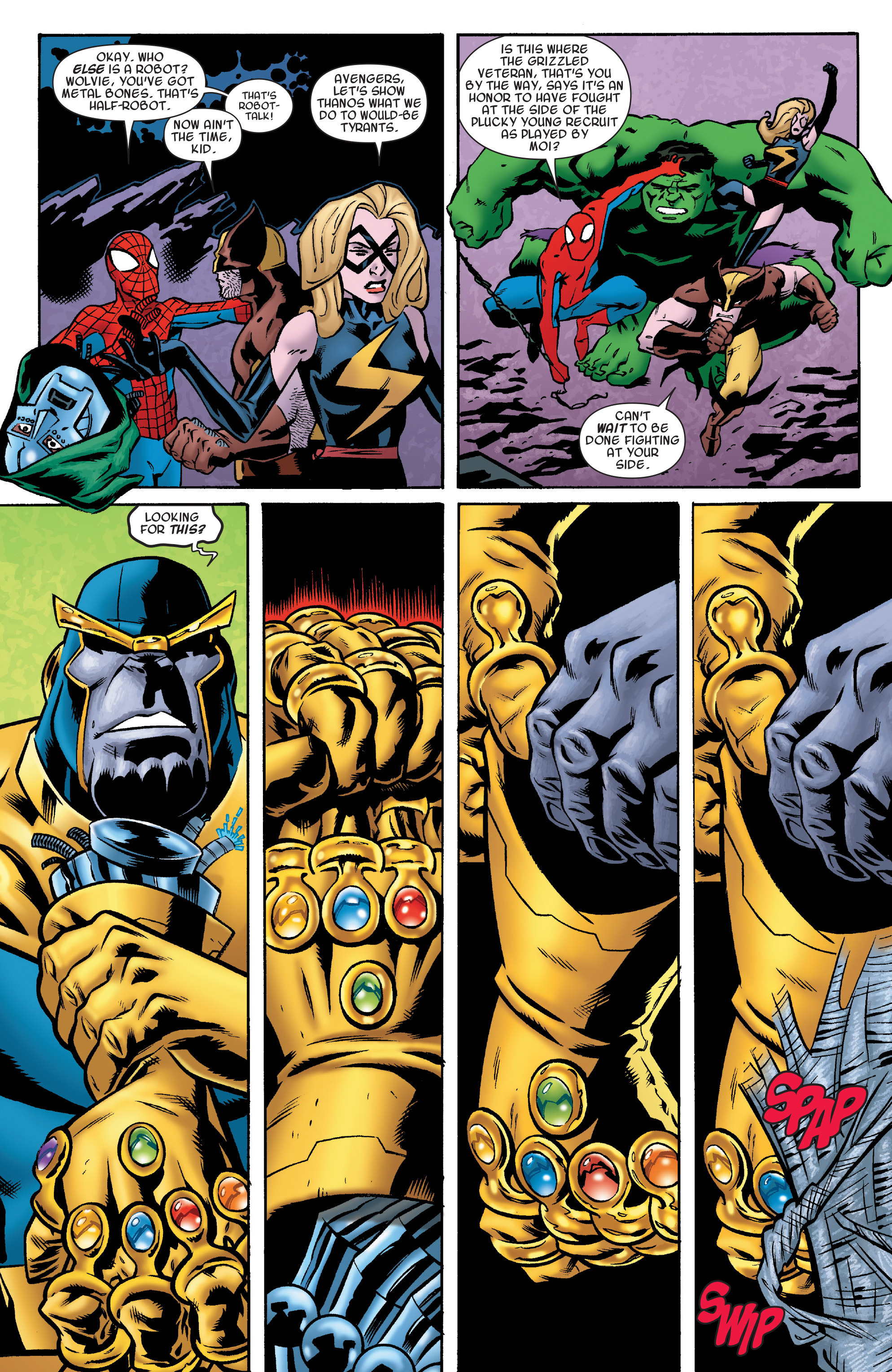 Read online Avengers & the Infinity Gauntlet comic -  Issue #4 - 16