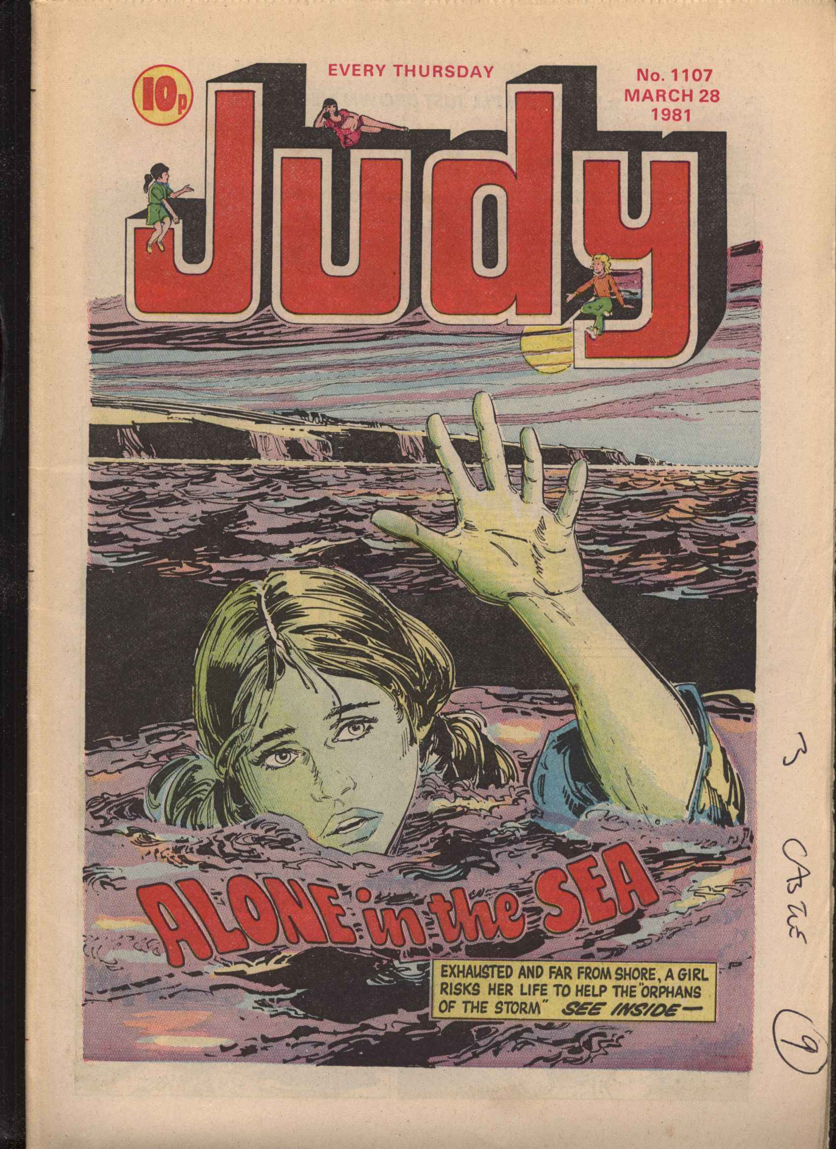 Read online Judy comic -  Issue #1107 - 1