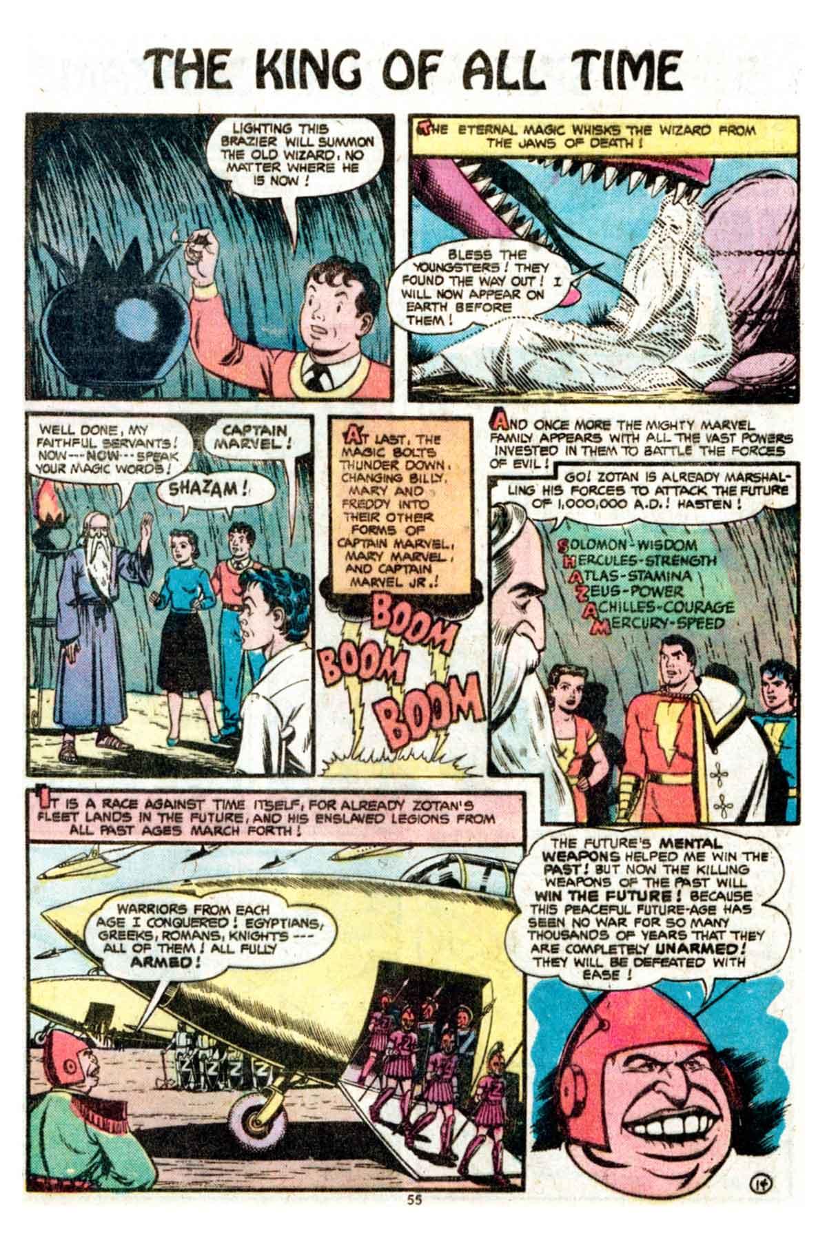 Read online Shazam! (1973) comic -  Issue #15 - 55